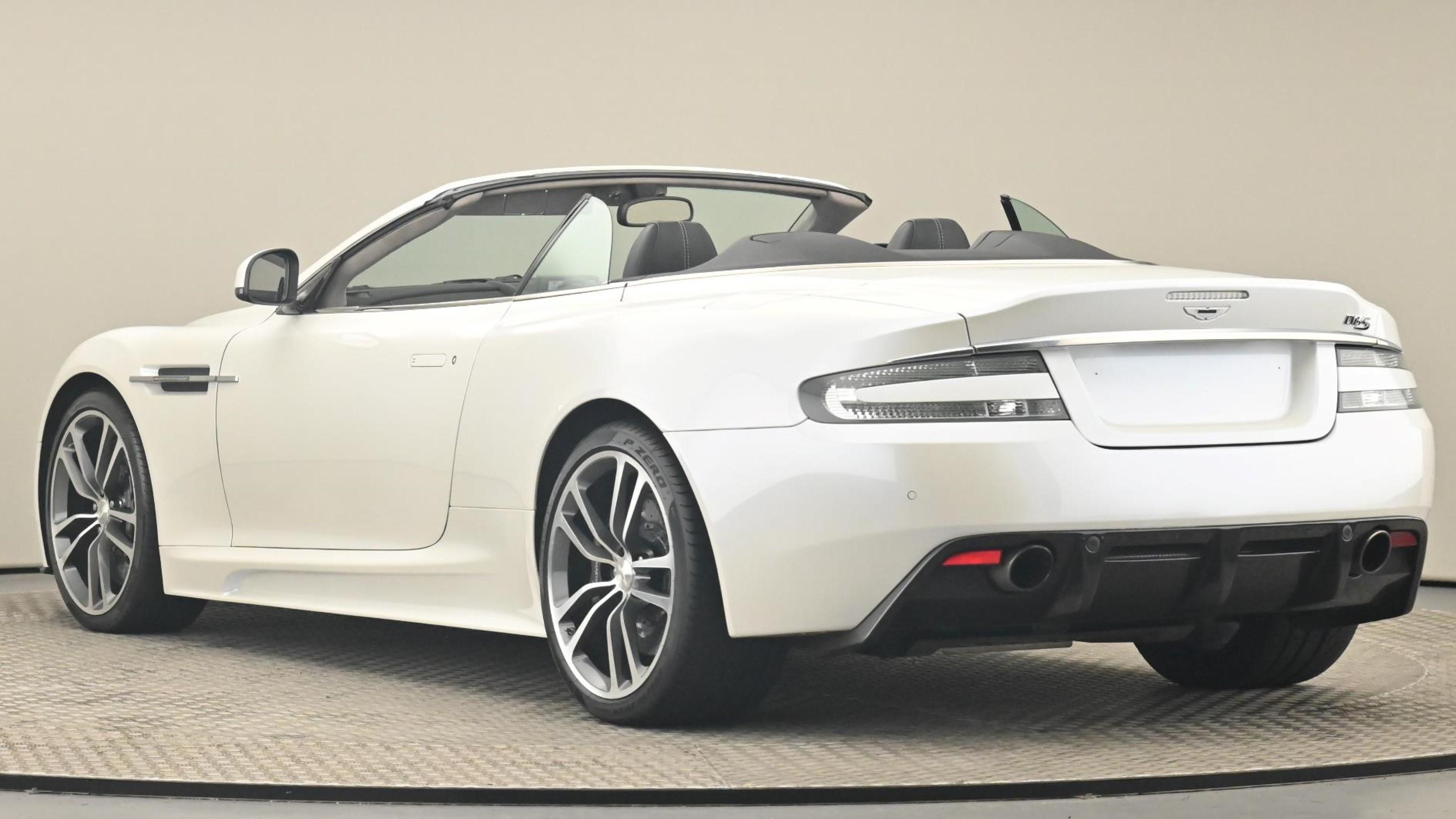 Used 2011 Aston Martin DBS V12 2dr Volante Touchtronic Auto White at Saxton4x4