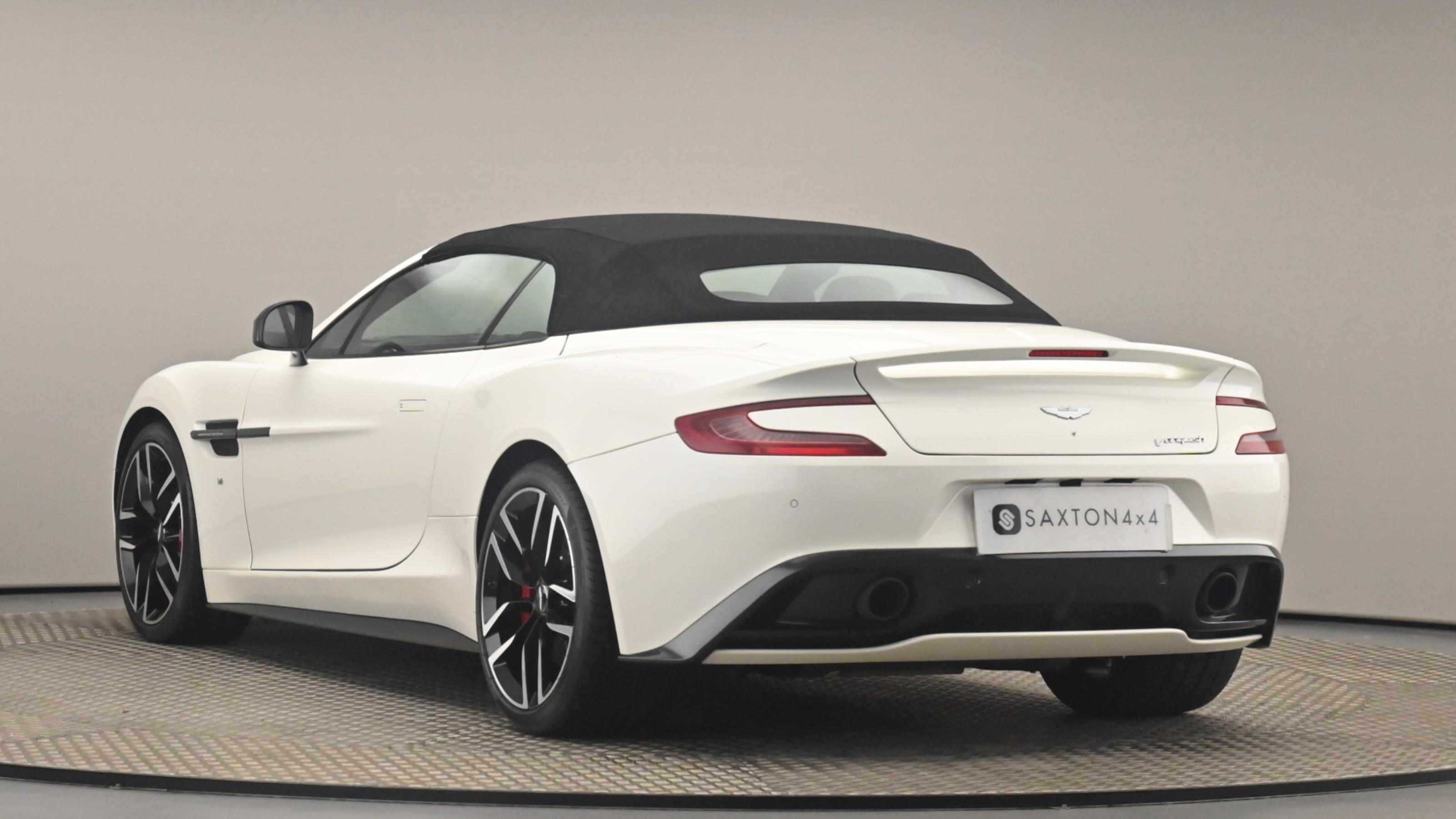 Used 2017 Aston Martin VANQUISH V12 [568] 2dr Volante Touchtronic Auto WHITE at Saxton4x4
