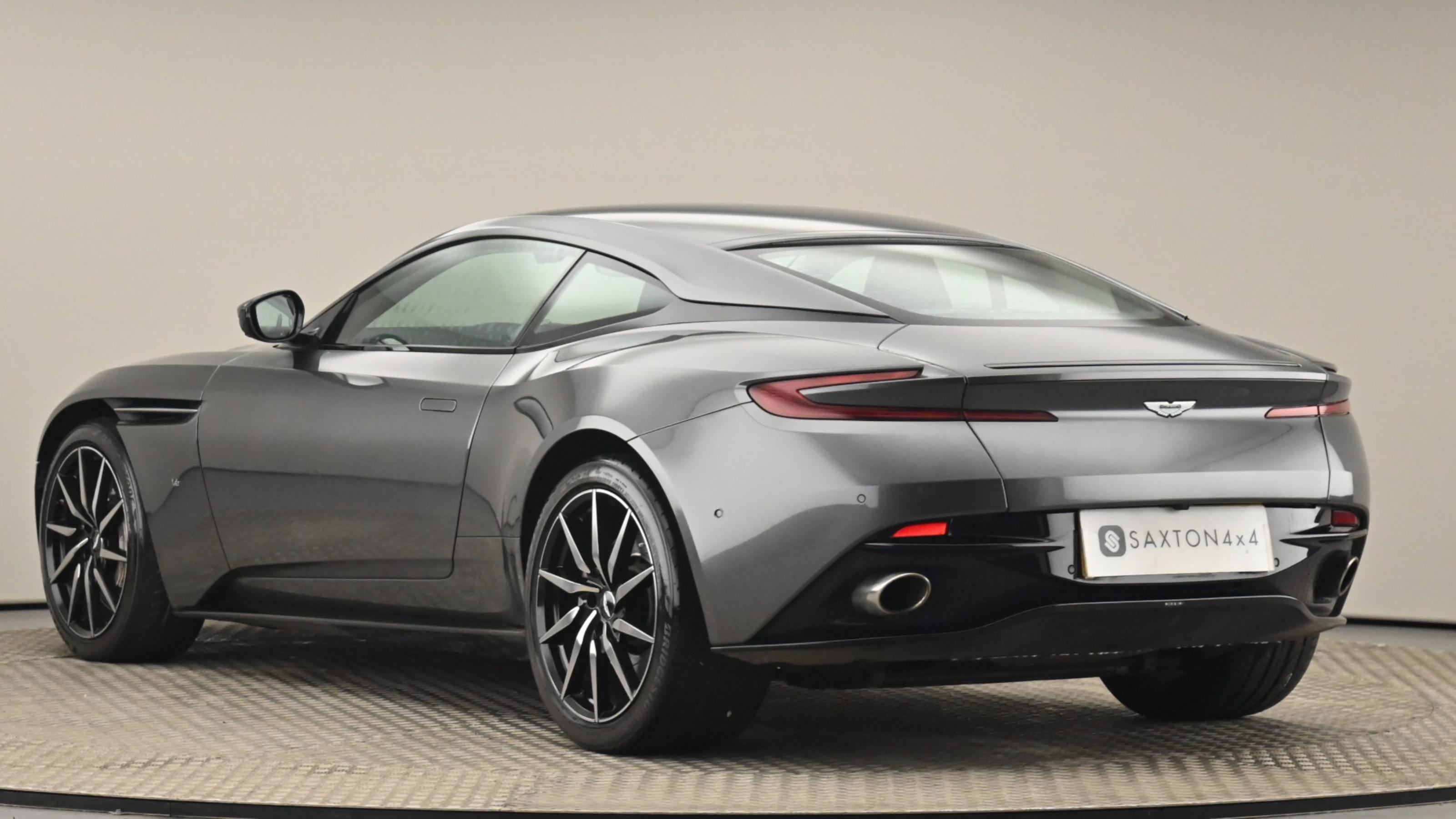 Used 2017 Aston Martin DB11 V12 Launch Edition 2dr Touchtronic Auto SILVER at Saxton4x4