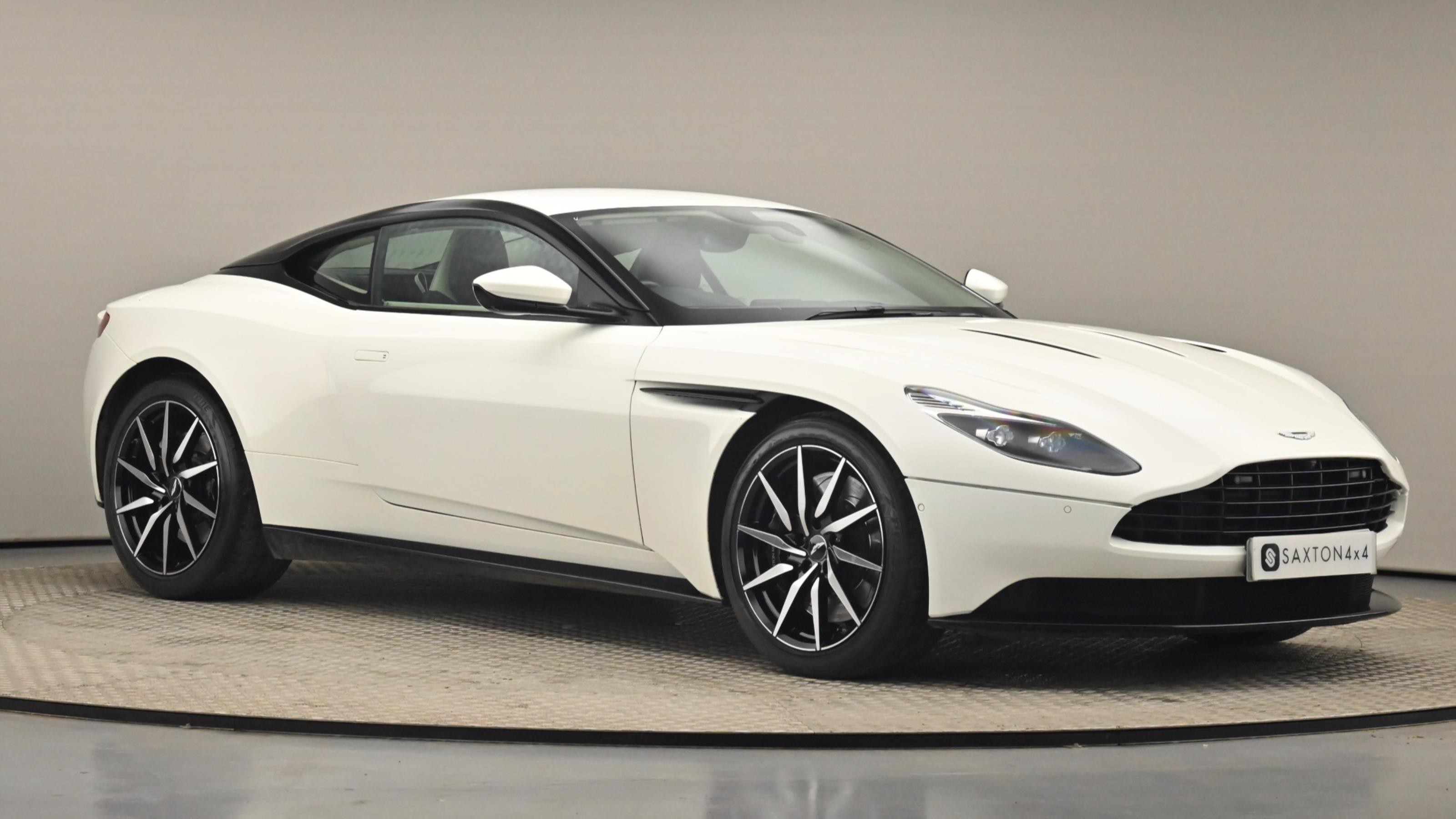 Used 2017 Aston Martin DB11 V12 Launch Edition 2dr Touchtronic Auto WHITE at Saxton4x4
