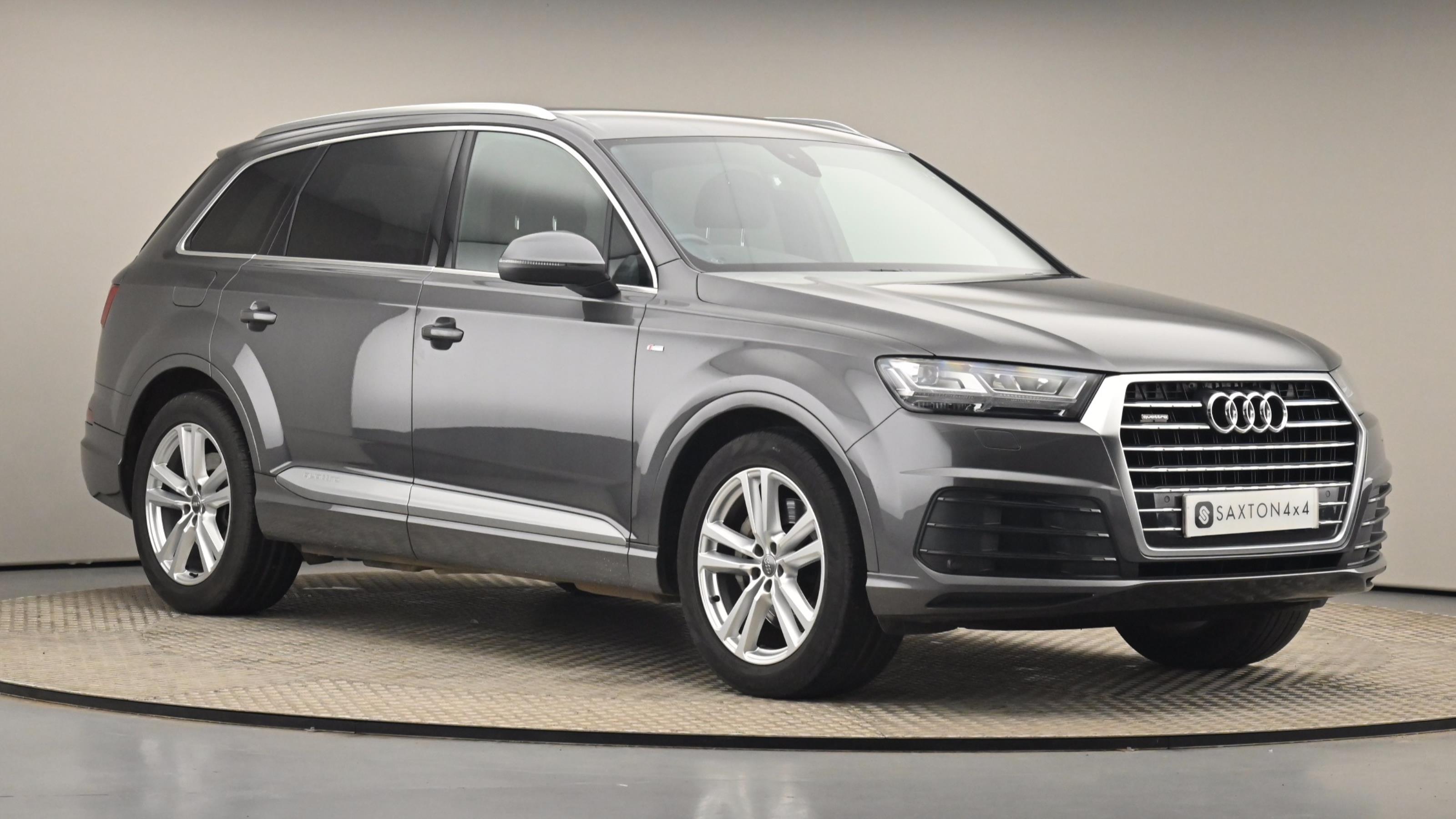 Used 2019 Audi Q7 45 TDI Quattro S Line 5dr Tiptronic [C+S Pack] GREY at Saxton4x4