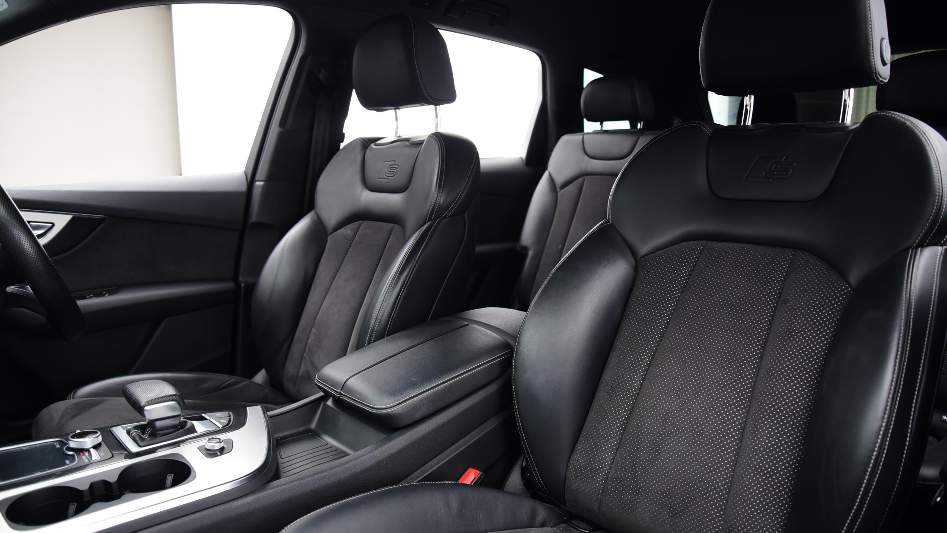 Used 2015 Audi Q7 3.0 TDI Quattro S Line 5dr Tip Auto BLACK at Saxton4x4