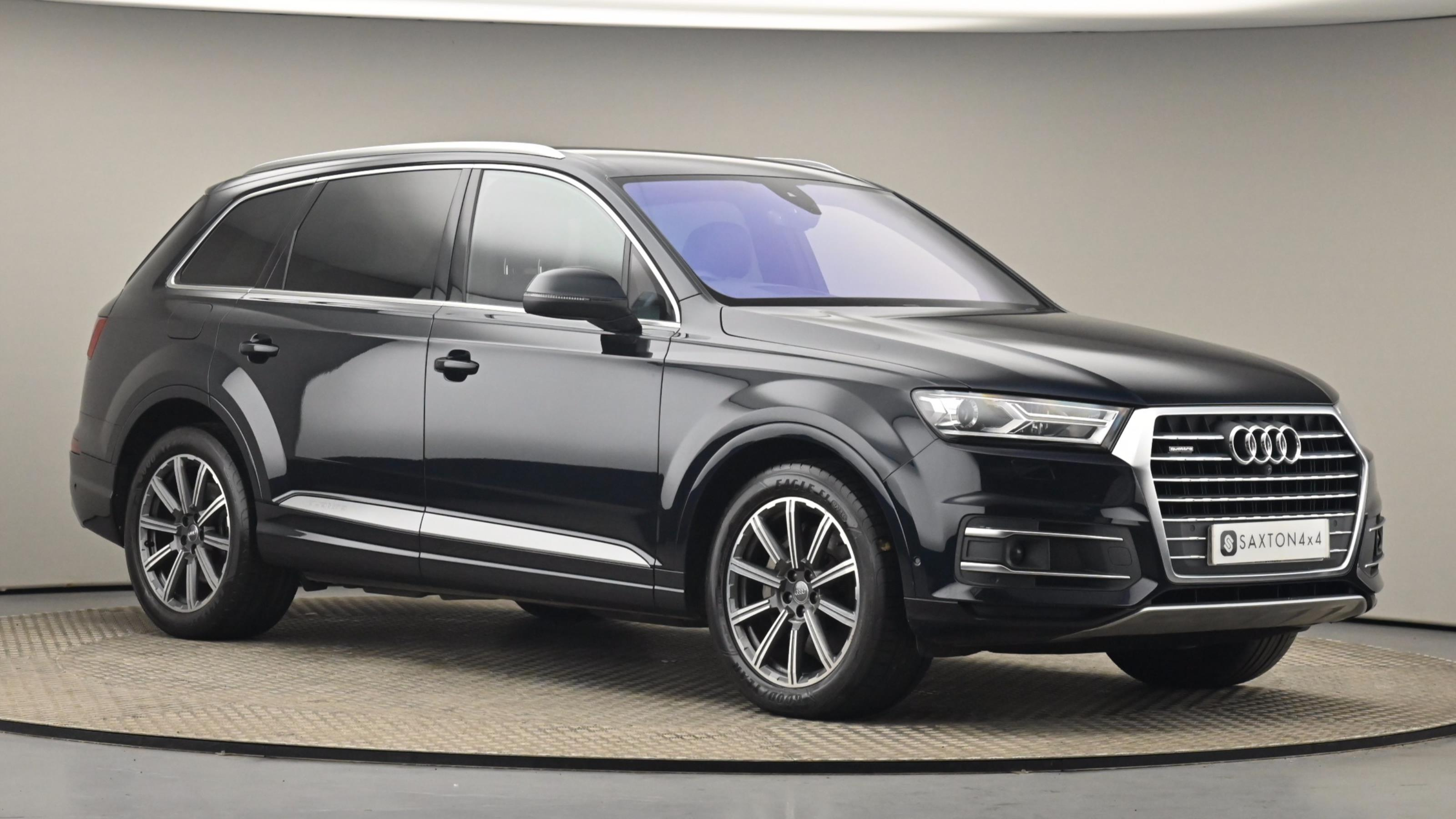 Used 2016 Audi Q7 3.0 TDI Quattro SE 5dr Tip Auto BLUE at Saxton4x4