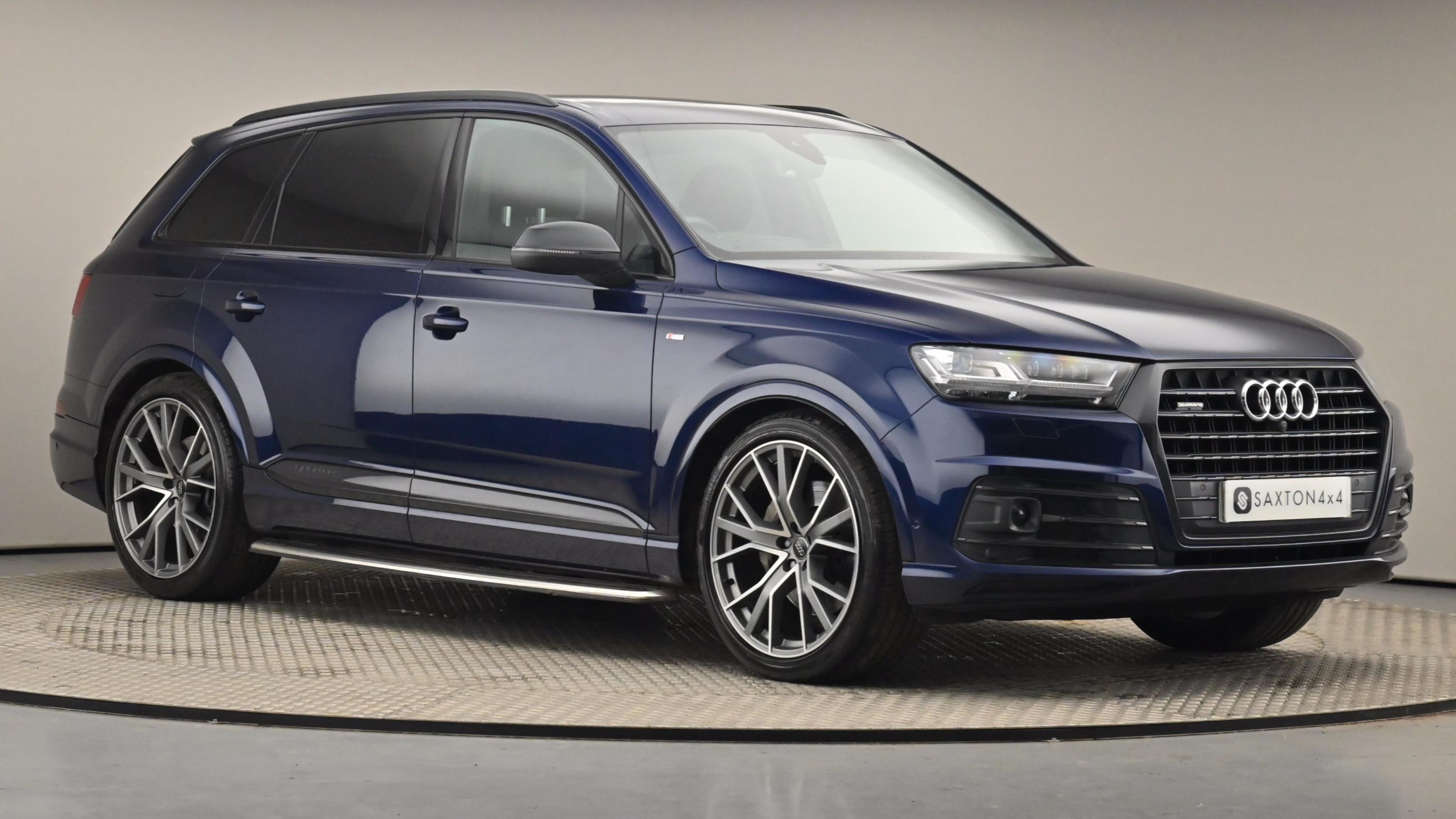 Used 2019 Audi Q7 50 TDI Quattro Vorsprung 5dr Tiptronic BLUE at Saxton4x4
