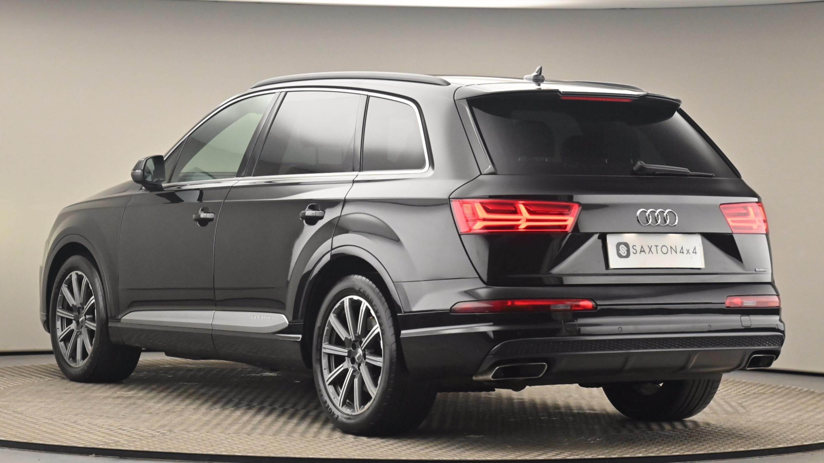 Used 2016 Audi Q7 3.0 TDI Quattro S Line 5dr Tip Auto BLACK at Saxton4x4