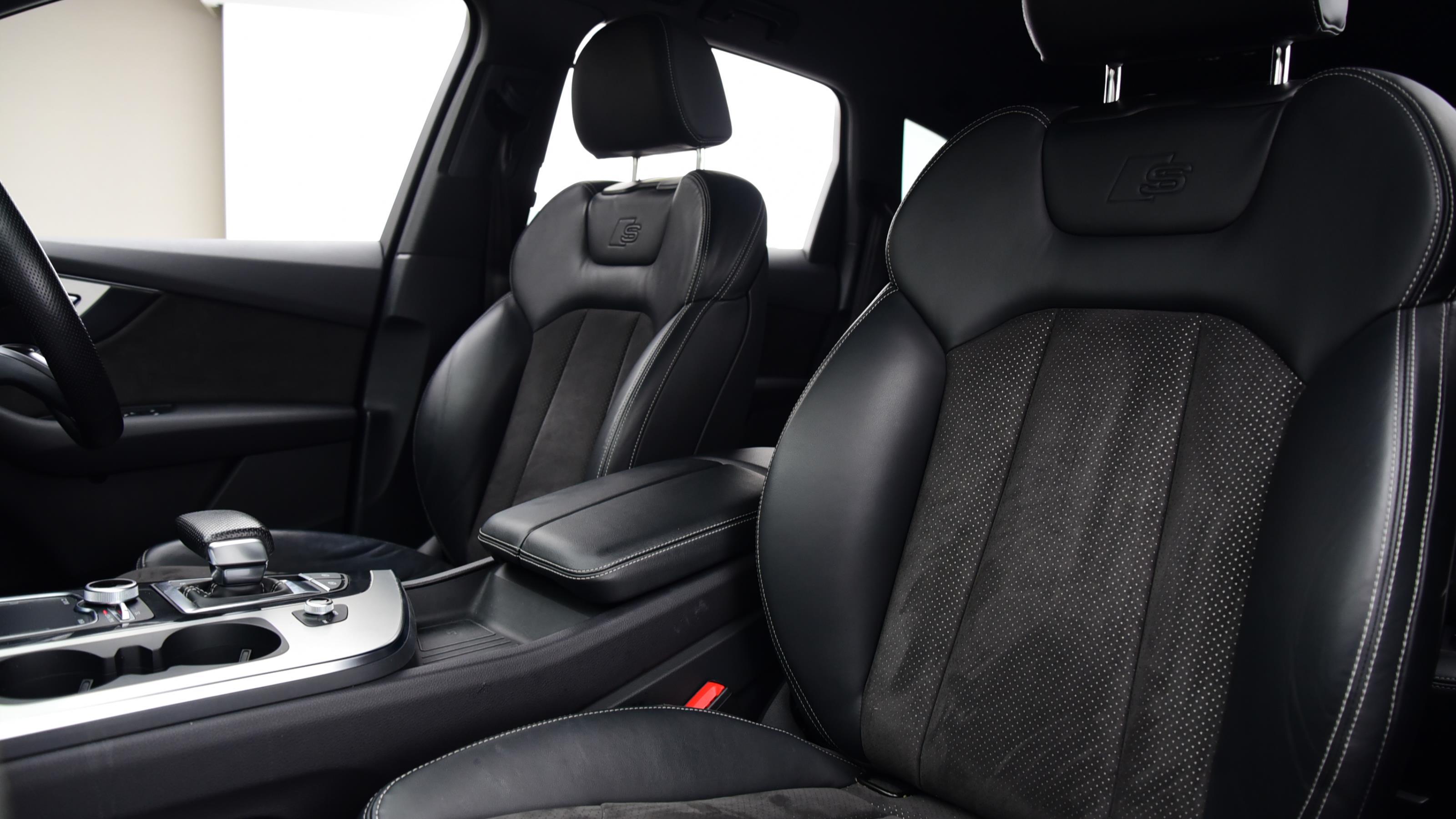 Used 2016 Audi Q7 3.0 TDI 218 Quattro S Line 5dr Tip Auto BLACK at Saxton4x4