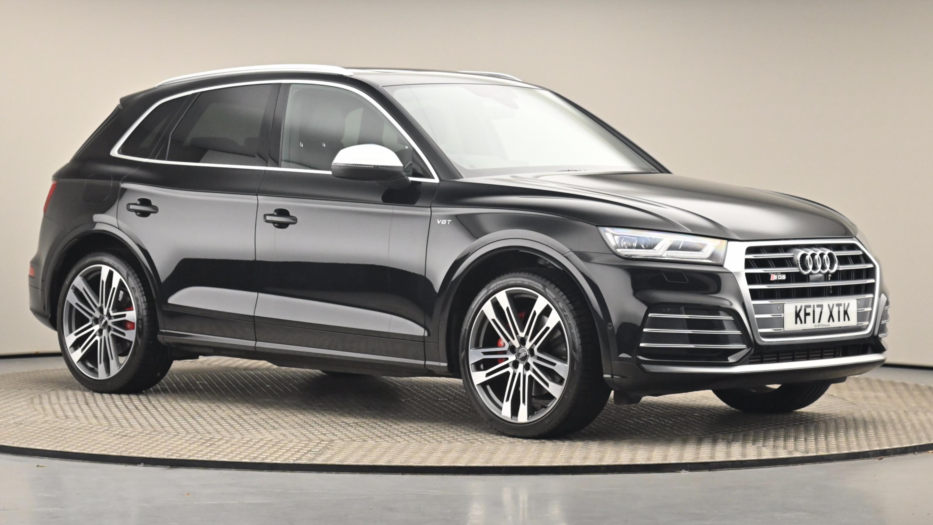 Used 2017 Audi Q5 SQ5 Quattro 5dr Tip Auto BLACK at Saxton4x4