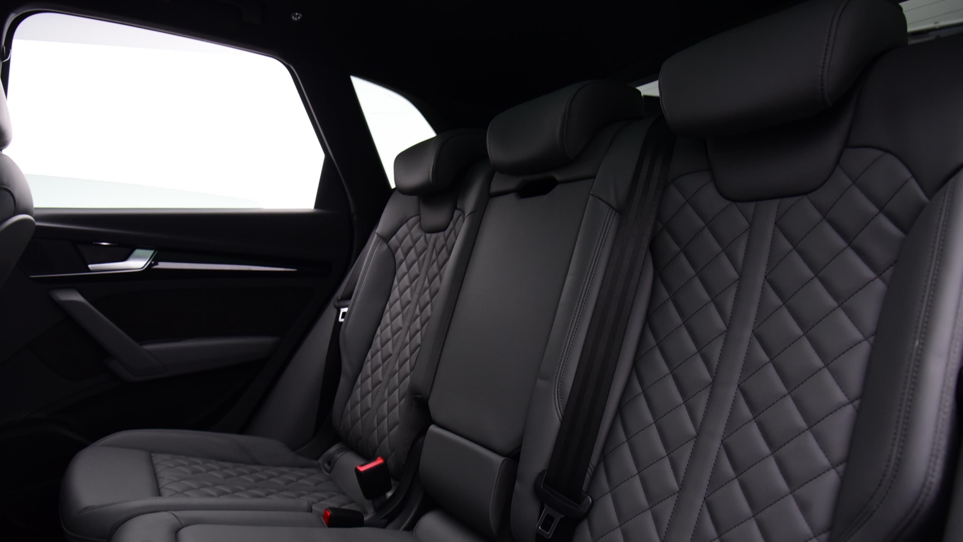 Used 2019 Audi Q5 40 TDI Quattro Black Edition 5dr S Tronic BLUE at Saxton4x4