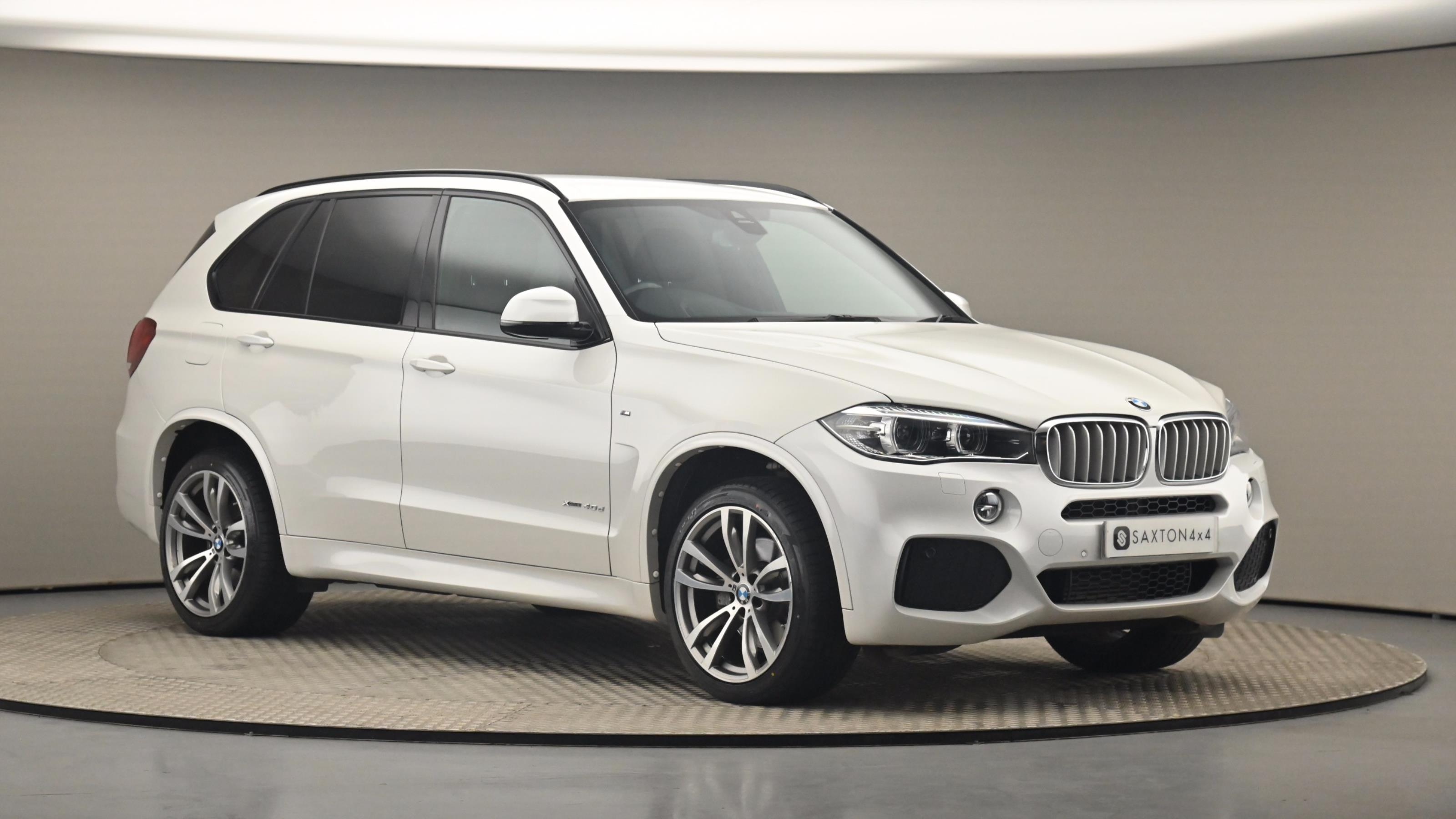 Used 2017 BMW X5 xDrive40d M Sport 5dr Auto [7 Seat] WHITE at Saxton4x4