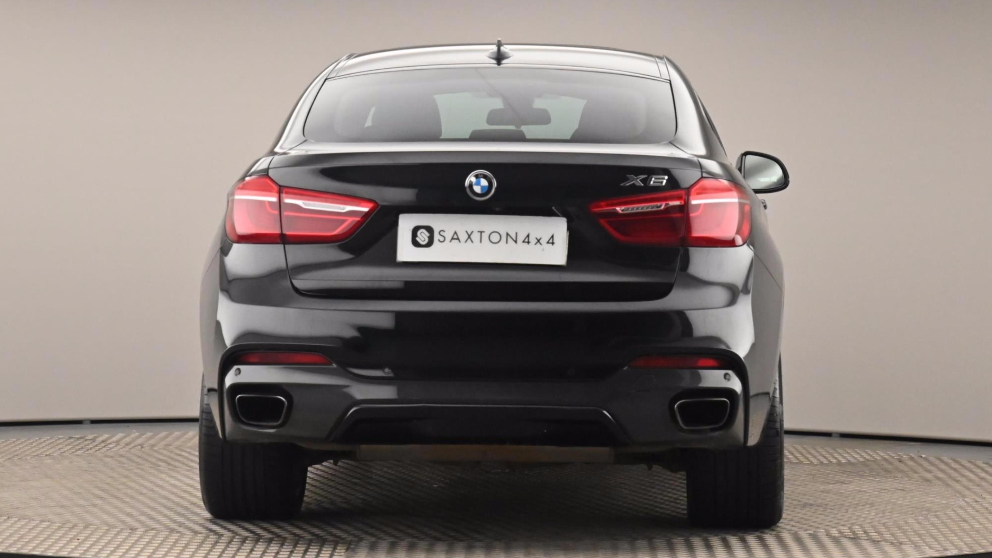 Used 2017 BMW X6 xDrive50i M Sport 5dr Step Auto BLACK at Saxton4x4