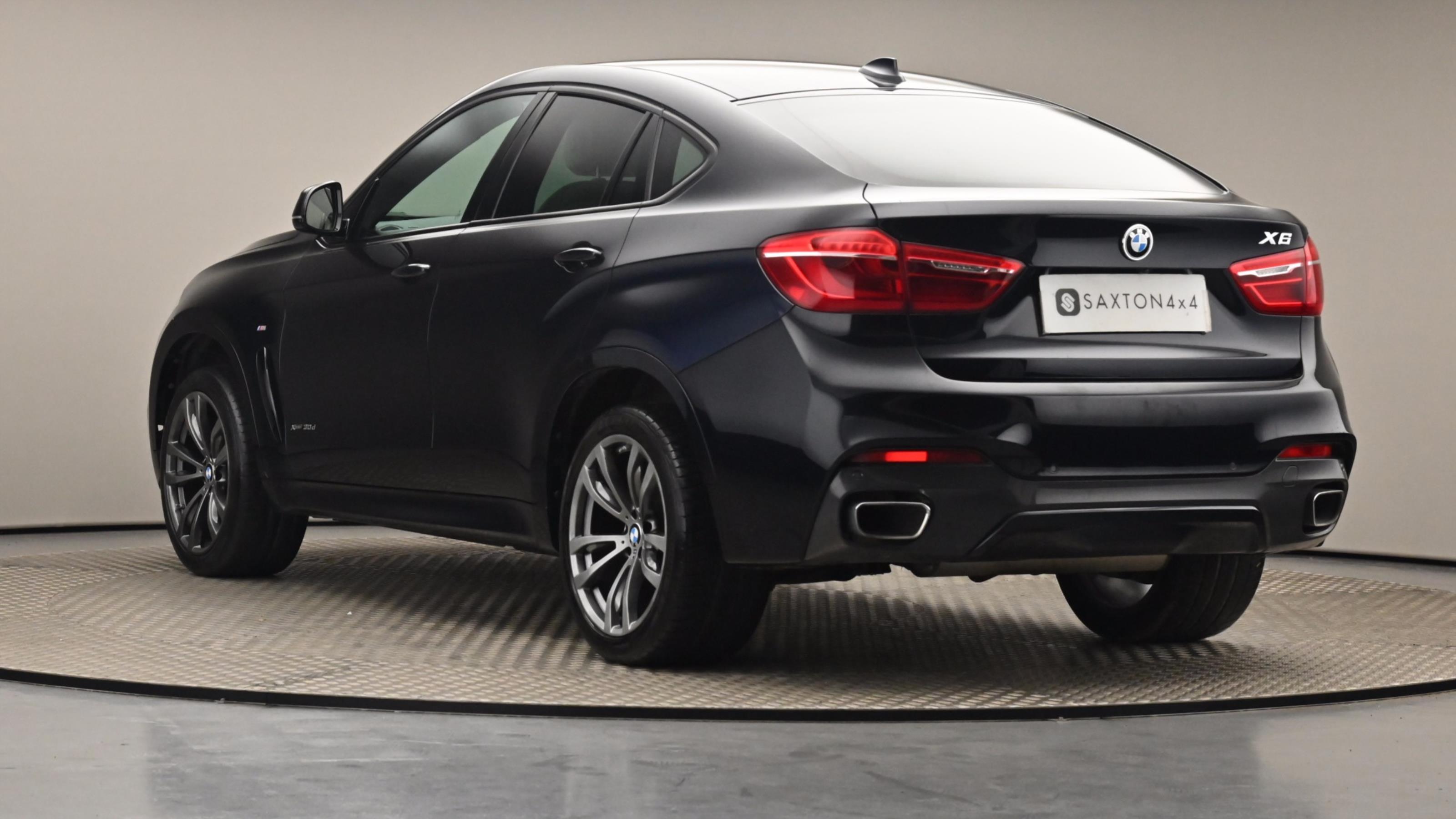 Used 2017 BMW X6 xDrive30d M Sport 5dr Step Auto BLACK at Saxton4x4
