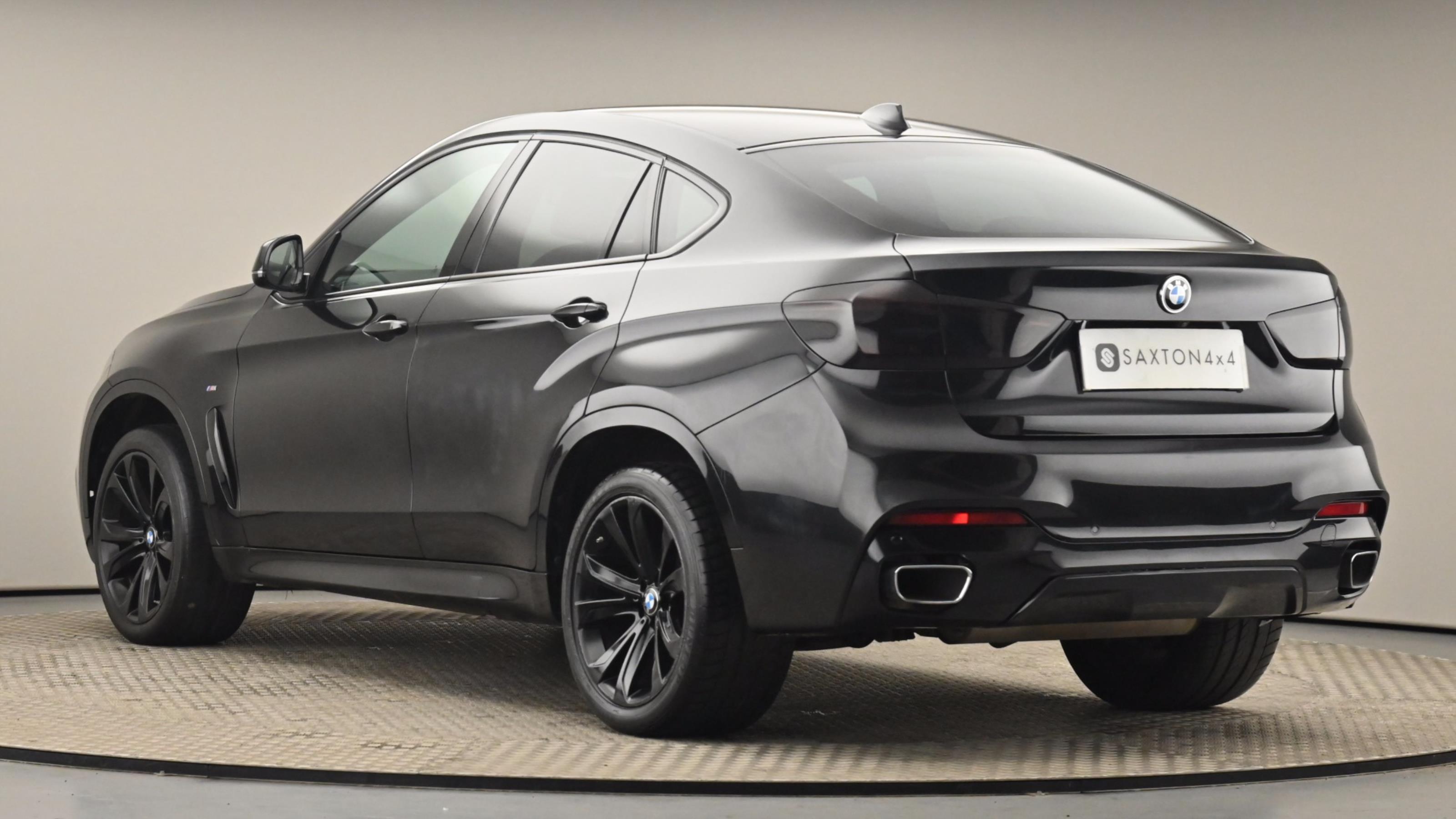 Used 2016 BMW X6 xDrive30d M Sport 5dr Step Auto BLACK at Saxton4x4