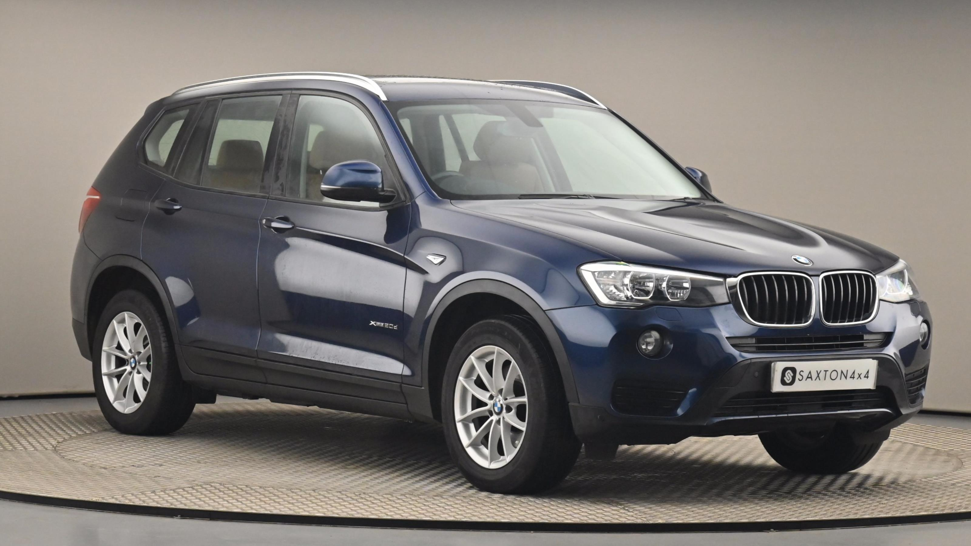 Used 2015 BMW X3 xDrive20d SE 5dr BLUE at Saxton4x4