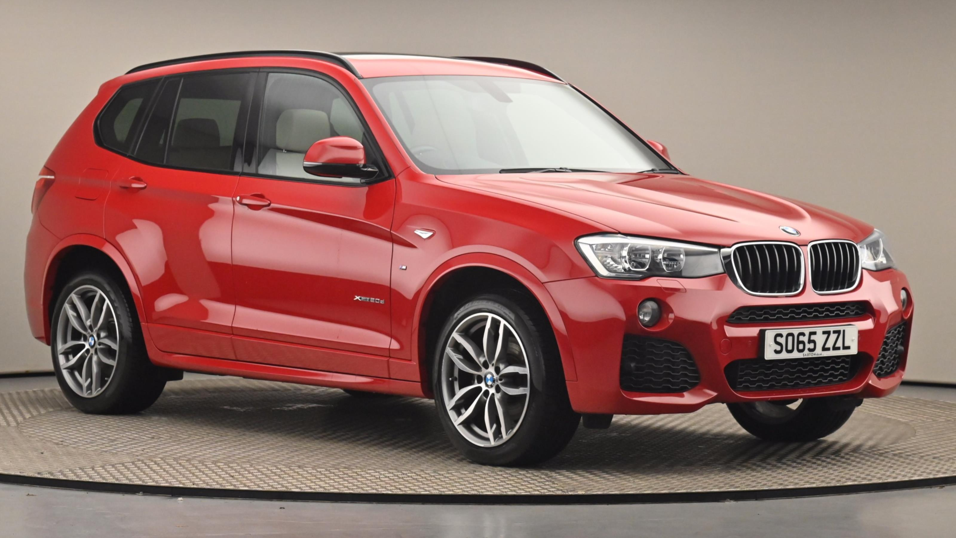 Used 2016 BMW X3 xDrive20d M Sport 5dr Step Auto at Saxton4x4