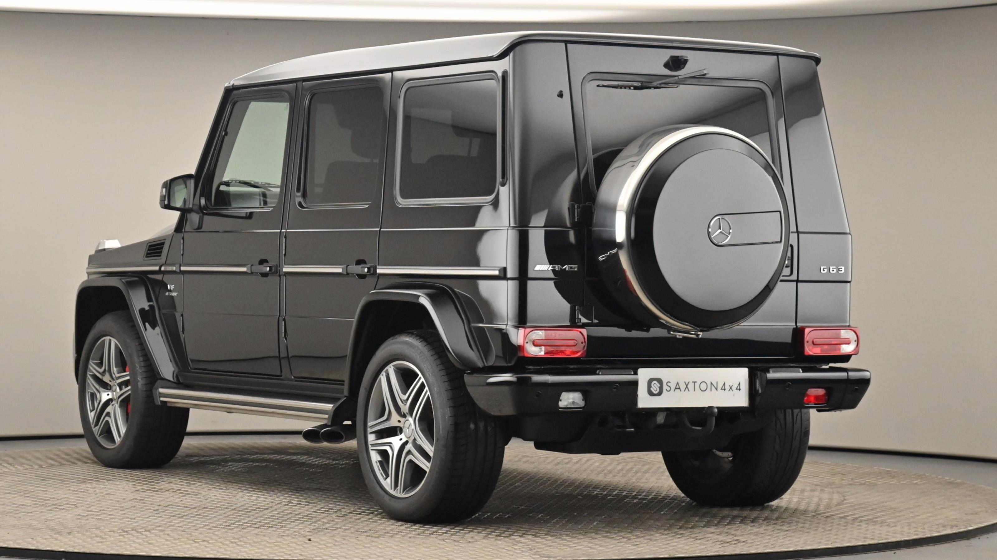 Used 2016 Mercedes-Benz G CLASS AMG G63 [571] 5dr Tip Auto BLACK at Saxton4x4
