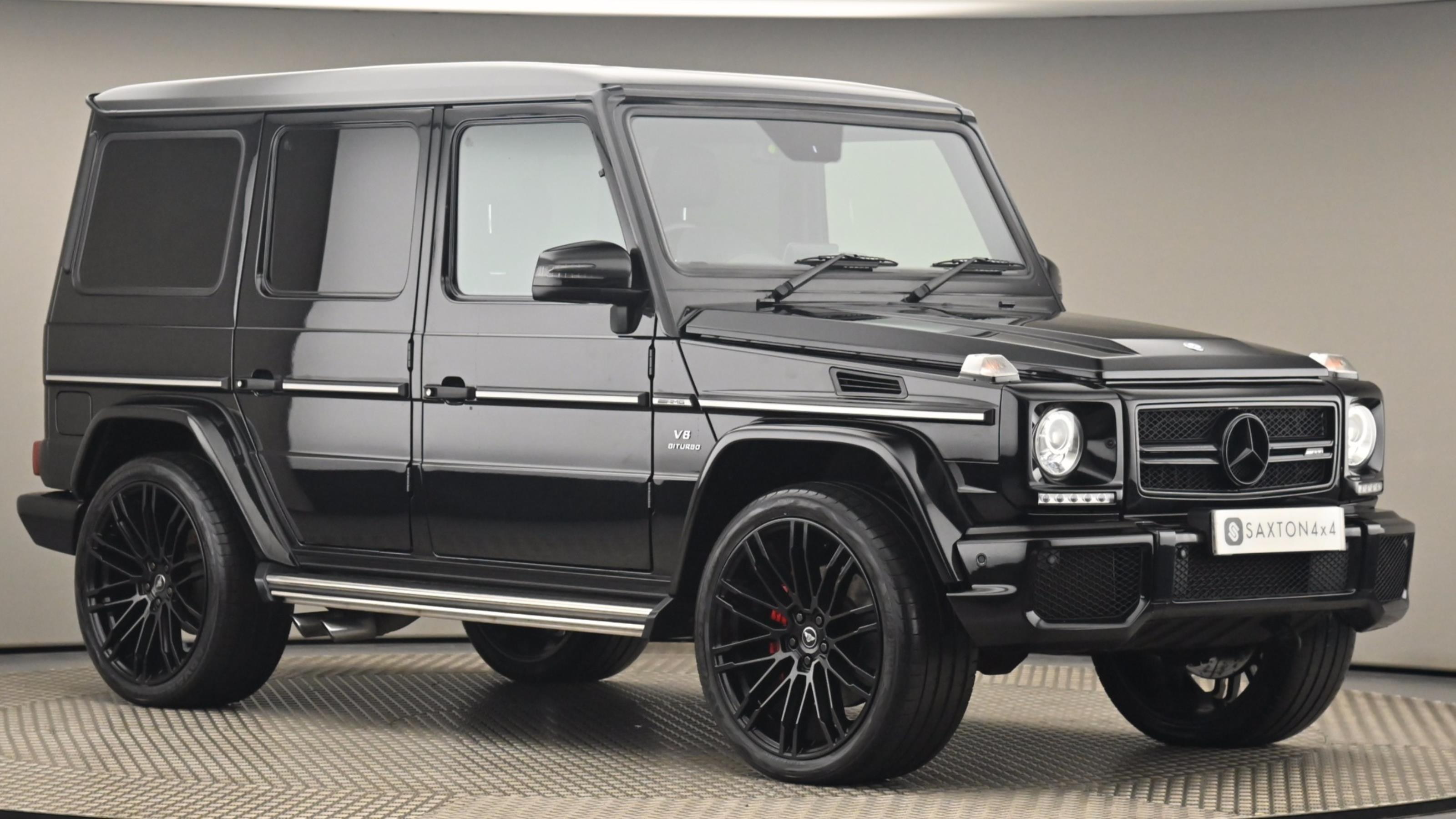 Used 2017 Mercedes-Benz G CLASS G63 [571] 5dr Tip Auto BLACK at Saxton4x4