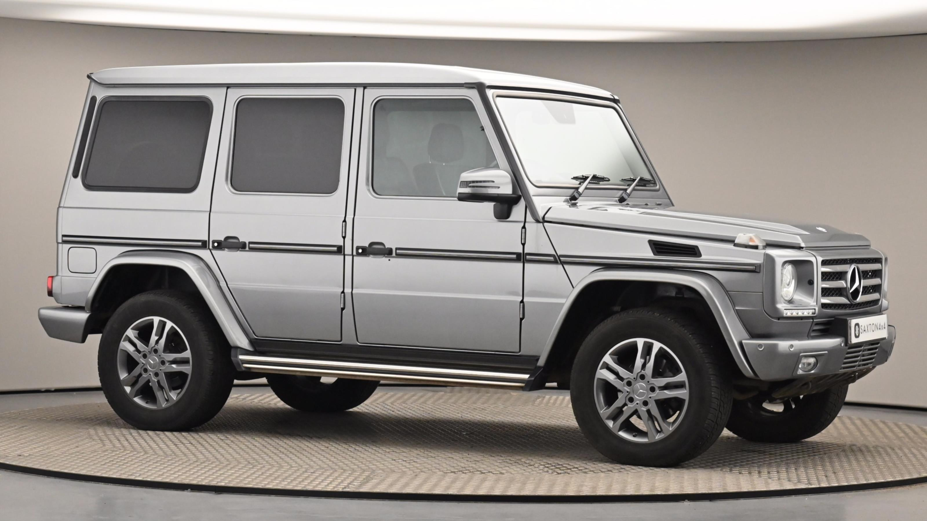 Used 2015 Mercedes-Benz G CLASS G350 CDI BlueTEC 211 5dr Tip Auto SILVER at Saxton4x4
