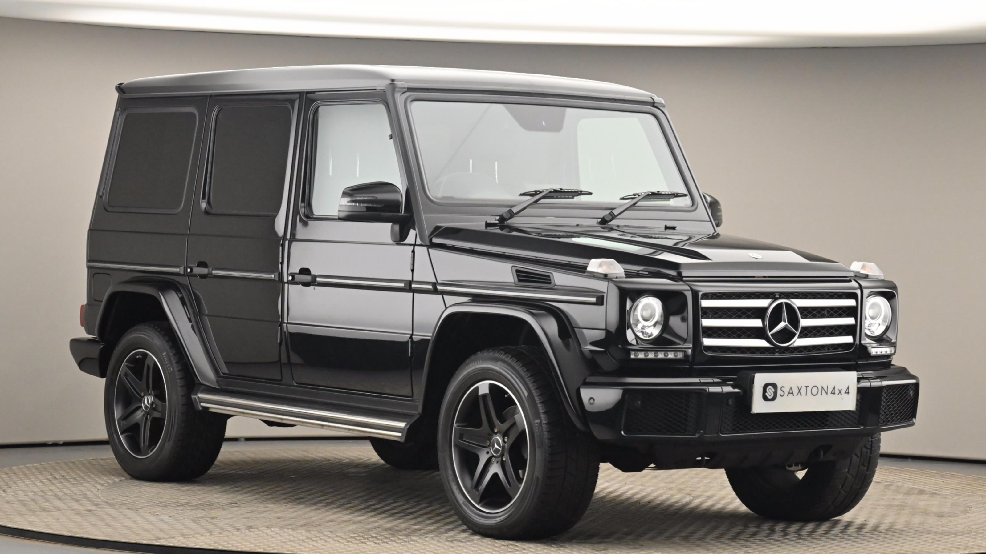 Used 2018 Mercedes-Benz G CLASS G350d Night Edition 5dr Tip Auto BLACK at Saxton4x4