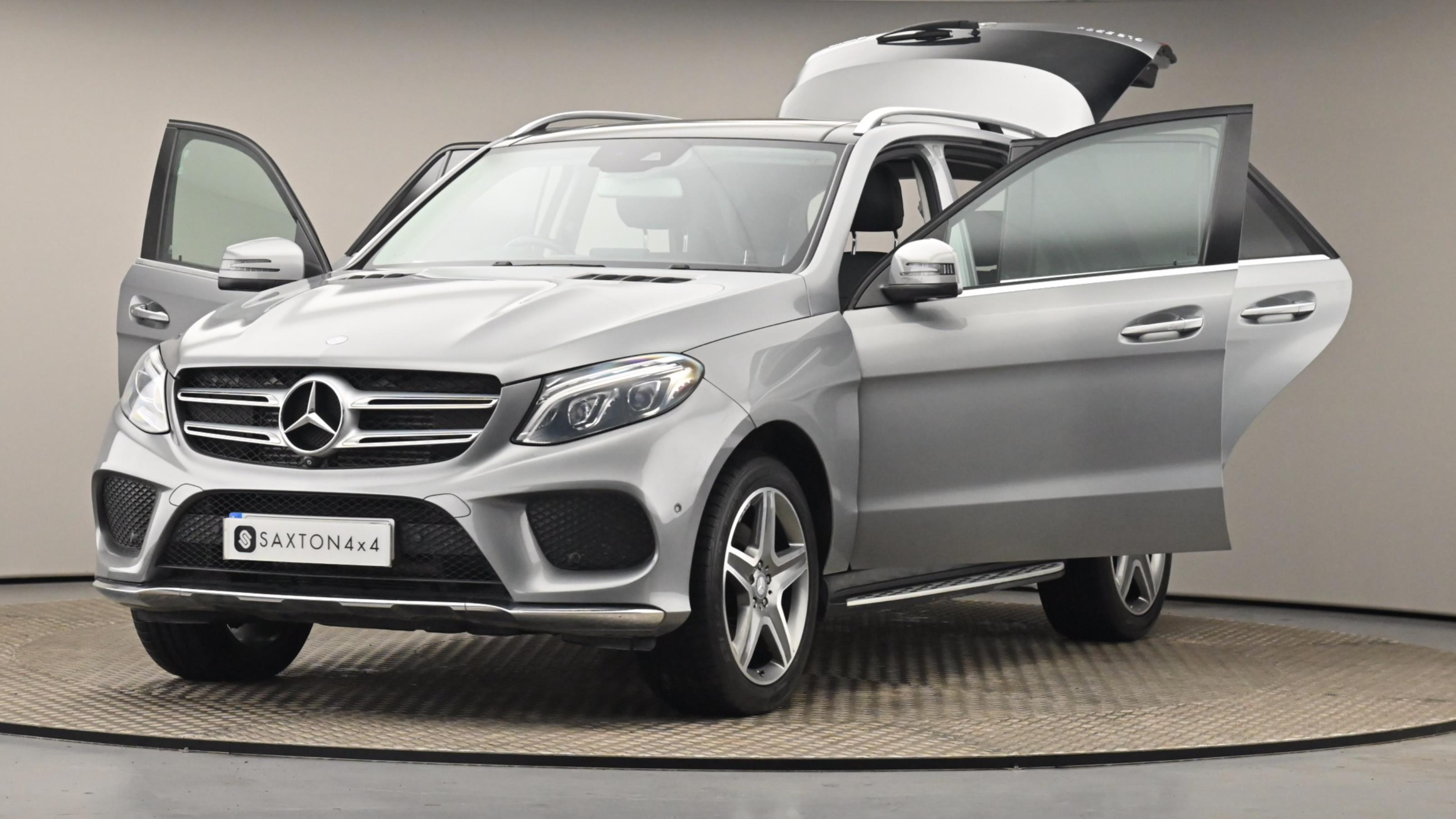 Used 2016 Mercedes-Benz GLE GLE 350d 4Matic AMG Line Prem Plus 5dr 9G-Tronic SILVER at Saxton4x4