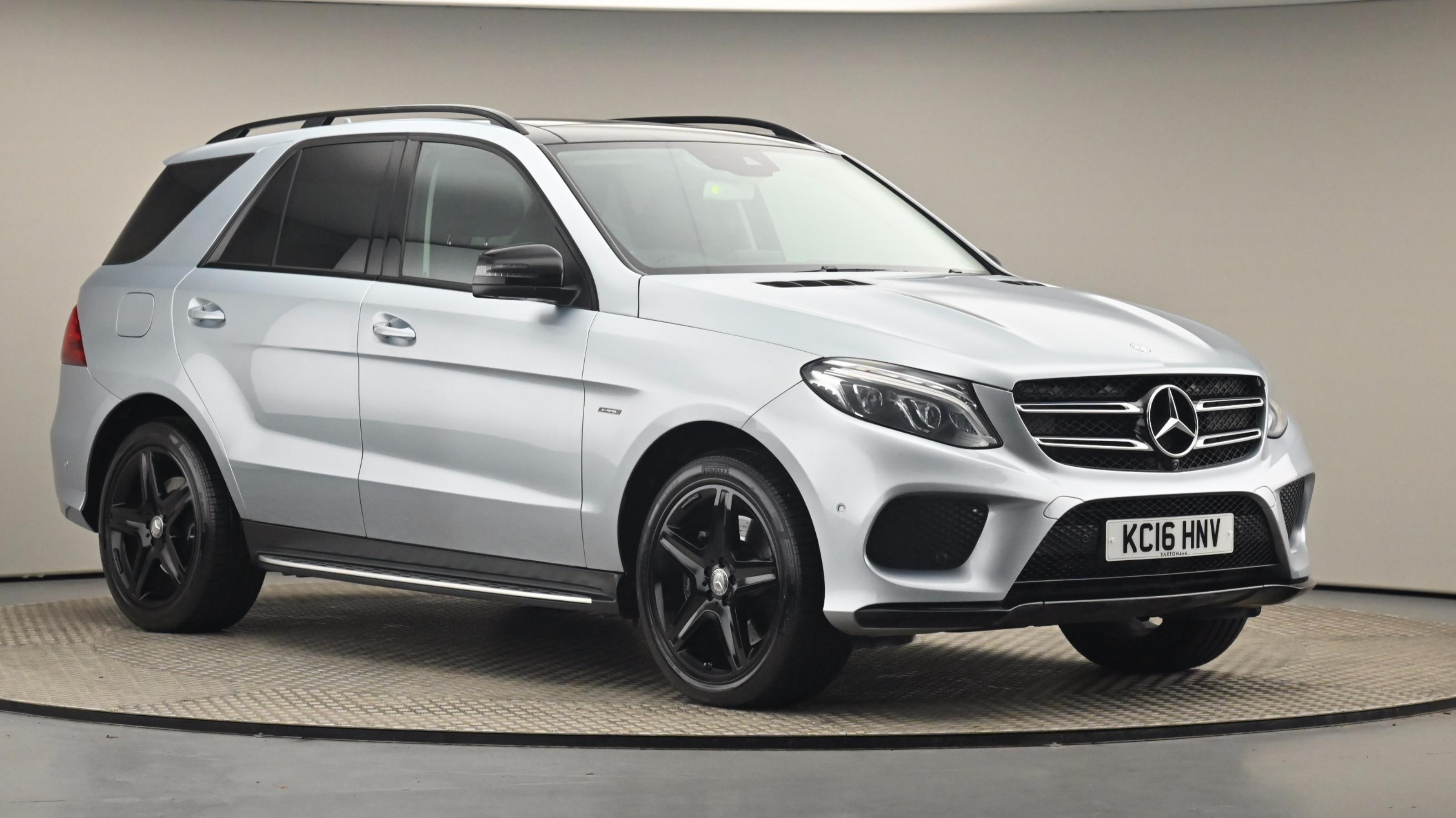 Used 2016 Mercedes-Benz GLE COUPE GLE 450 AMG 4Matic Premium 5dr 9G-Tronic SILVER at Saxton4x4