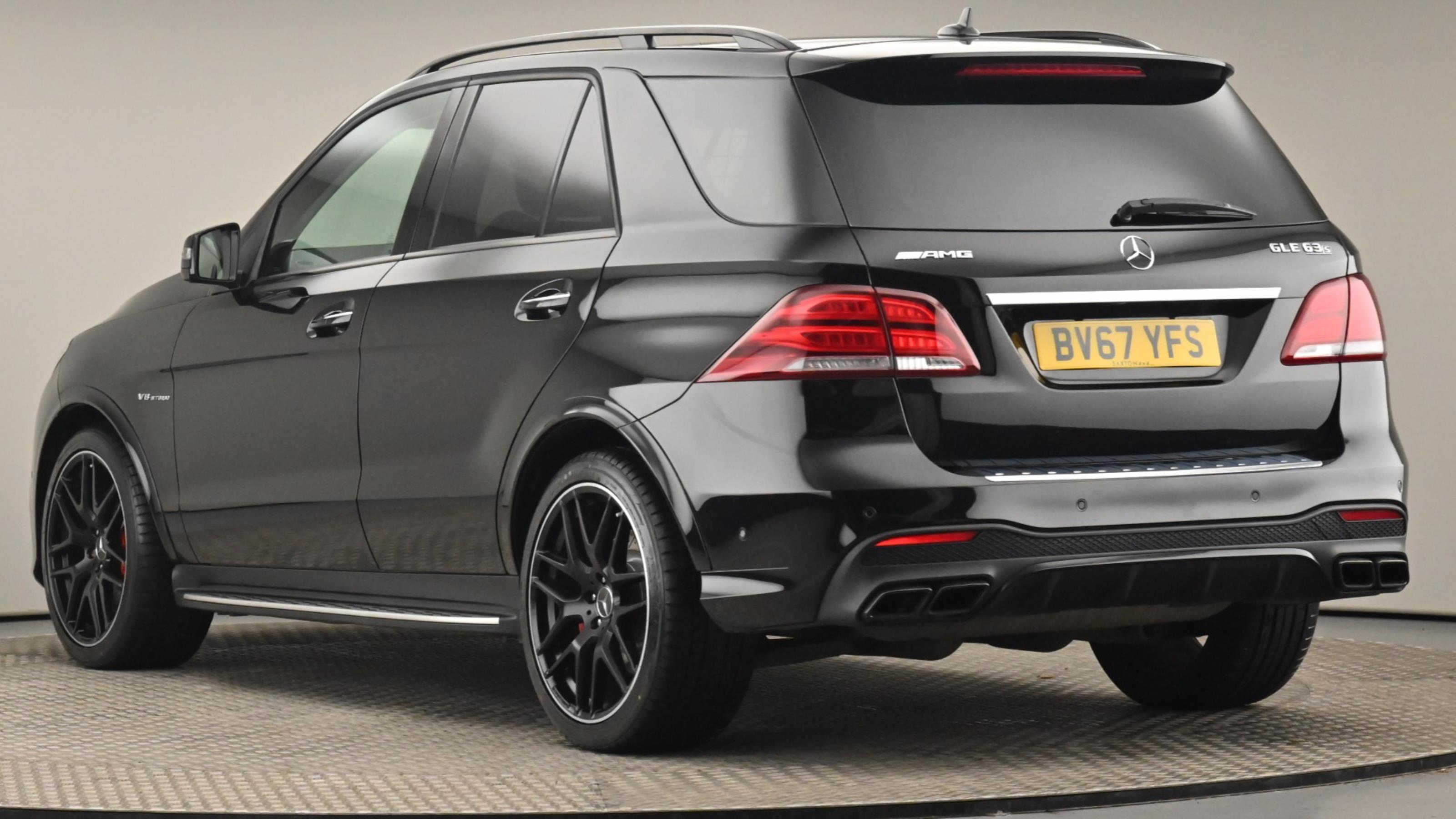 Used 2017 Mercedes-Benz GLE GLE 63 S 4Matic Premium 5dr 7G-Tronic BLACK at Saxton4x4