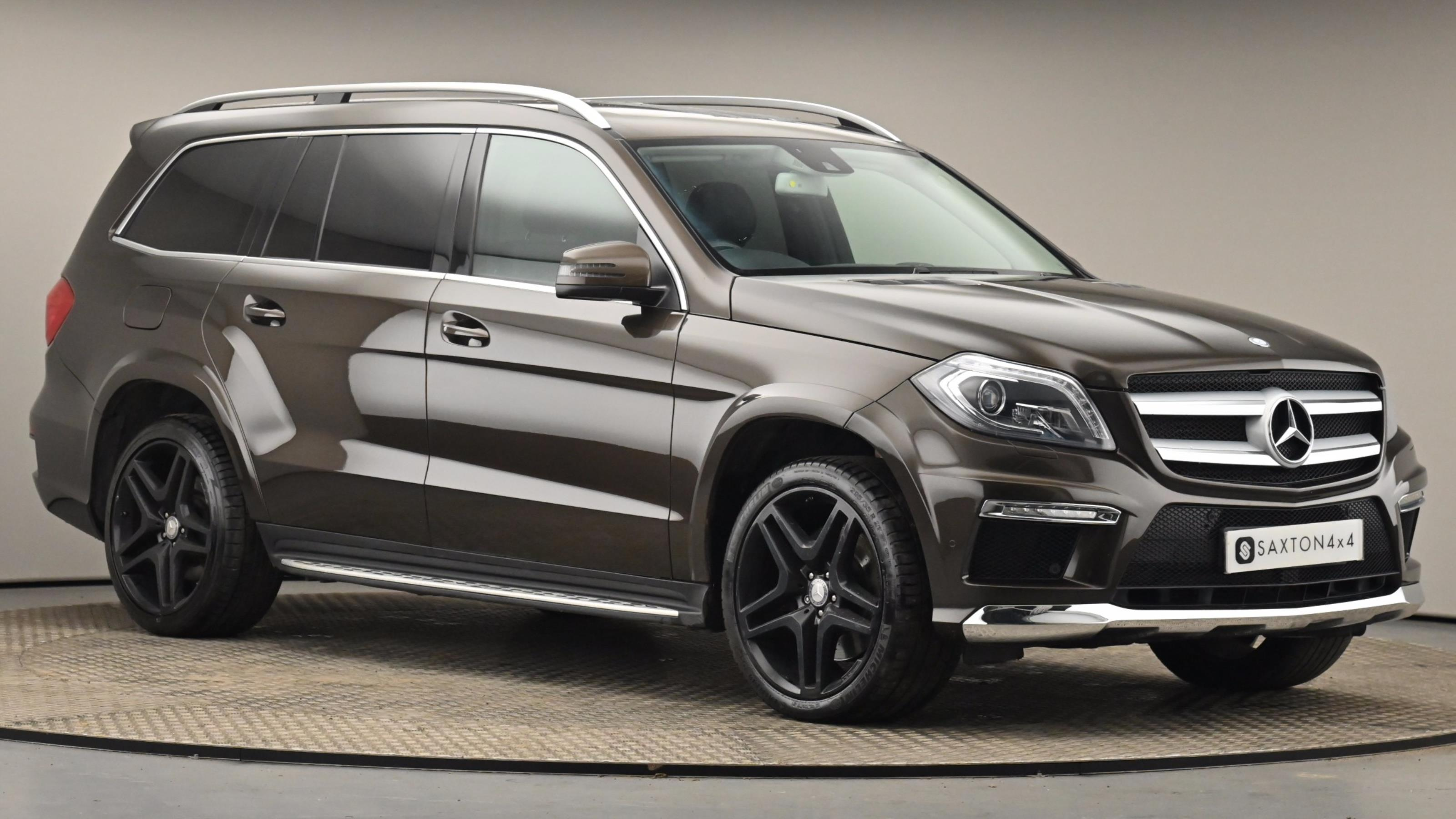 Used 2015 Mercedes-Benz GL CLASS GL350 BlueTEC AMG Sport 5dr Tip Auto BROWN at Saxton4x4