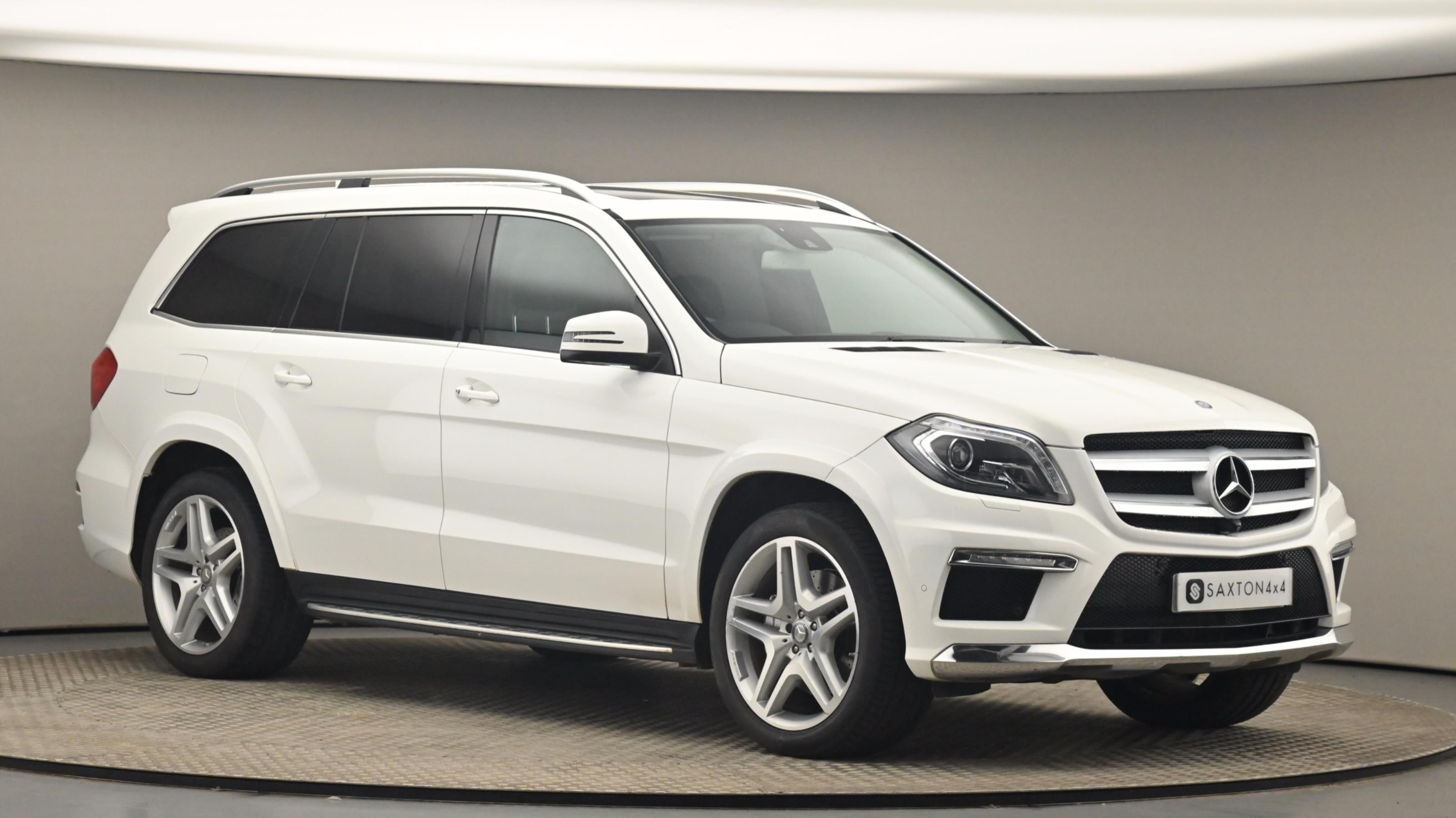 Used 2015 Mercedes-Benz GL CLASS GL350 BlueTEC AMG Sport 5dr Tip Auto WHITE at Saxton4x4