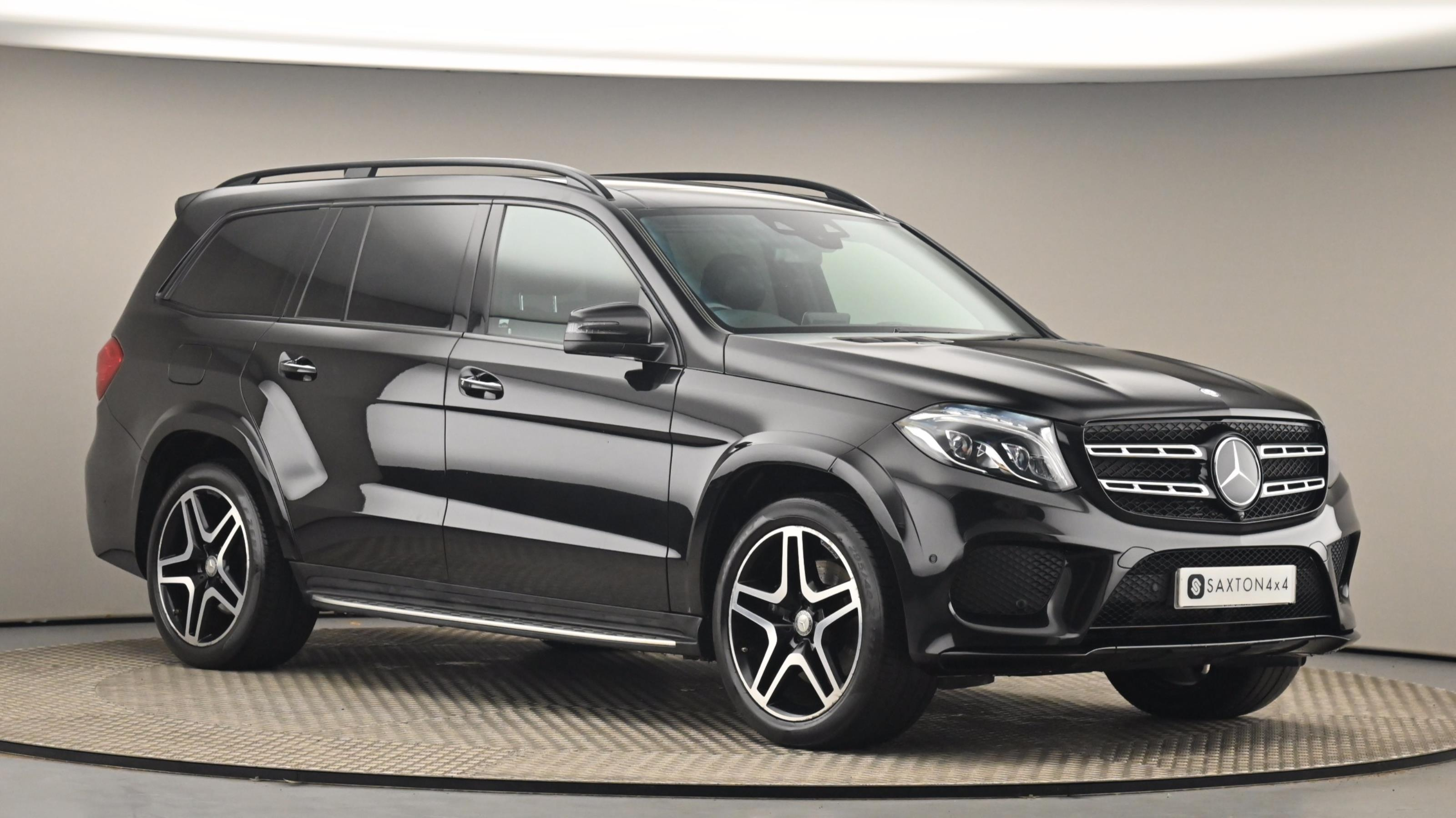 Used 2016 Mercedes-Benz GLS GLS 350d 4Matic AMG Line 5dr 9G-Tronic BLACK at Saxton4x4