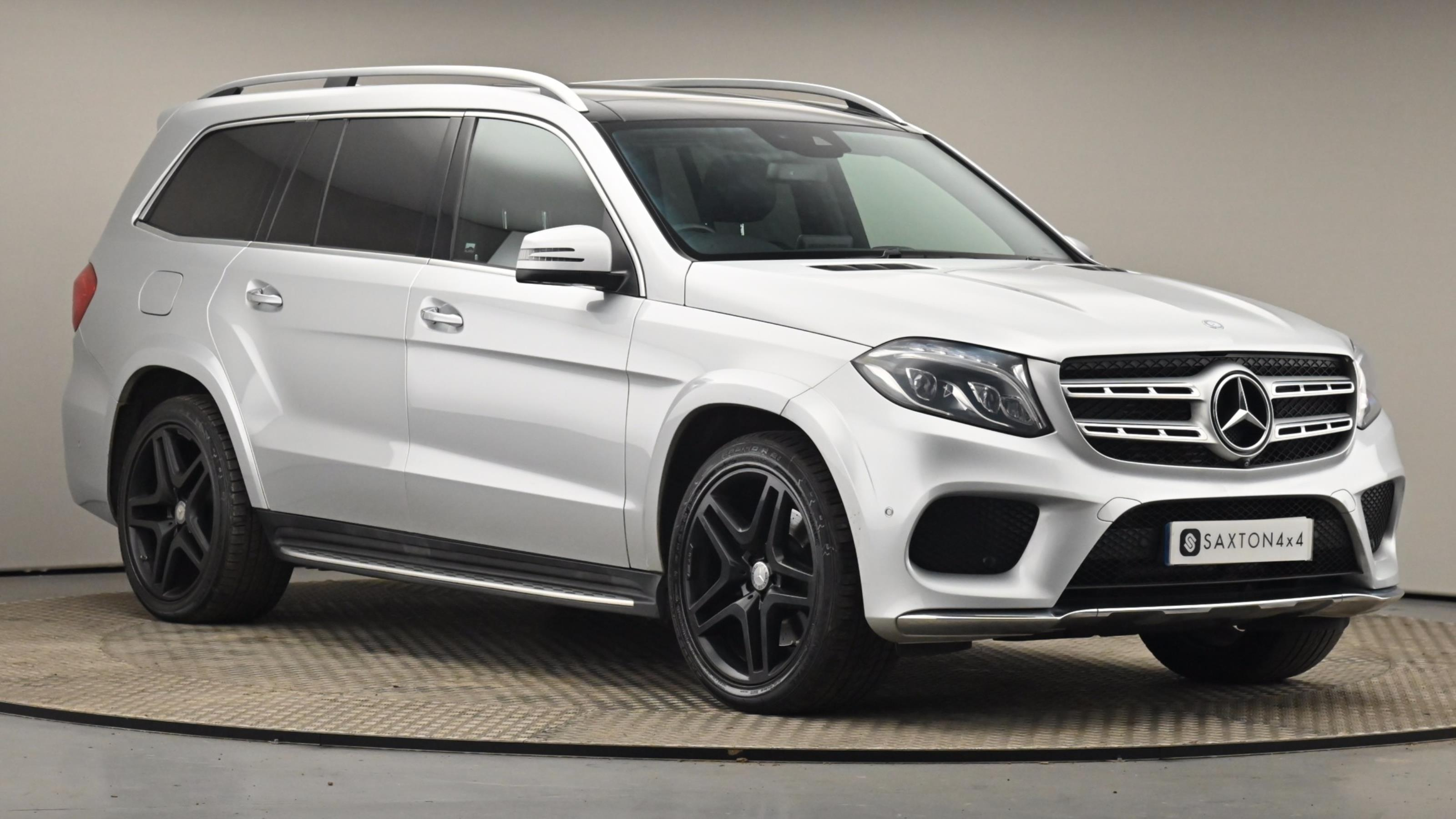 Used 2016 Mercedes-Benz GLS GLS 350d 4Matic AMG Line 5dr 9G-Tronic SILVER at Saxton4x4