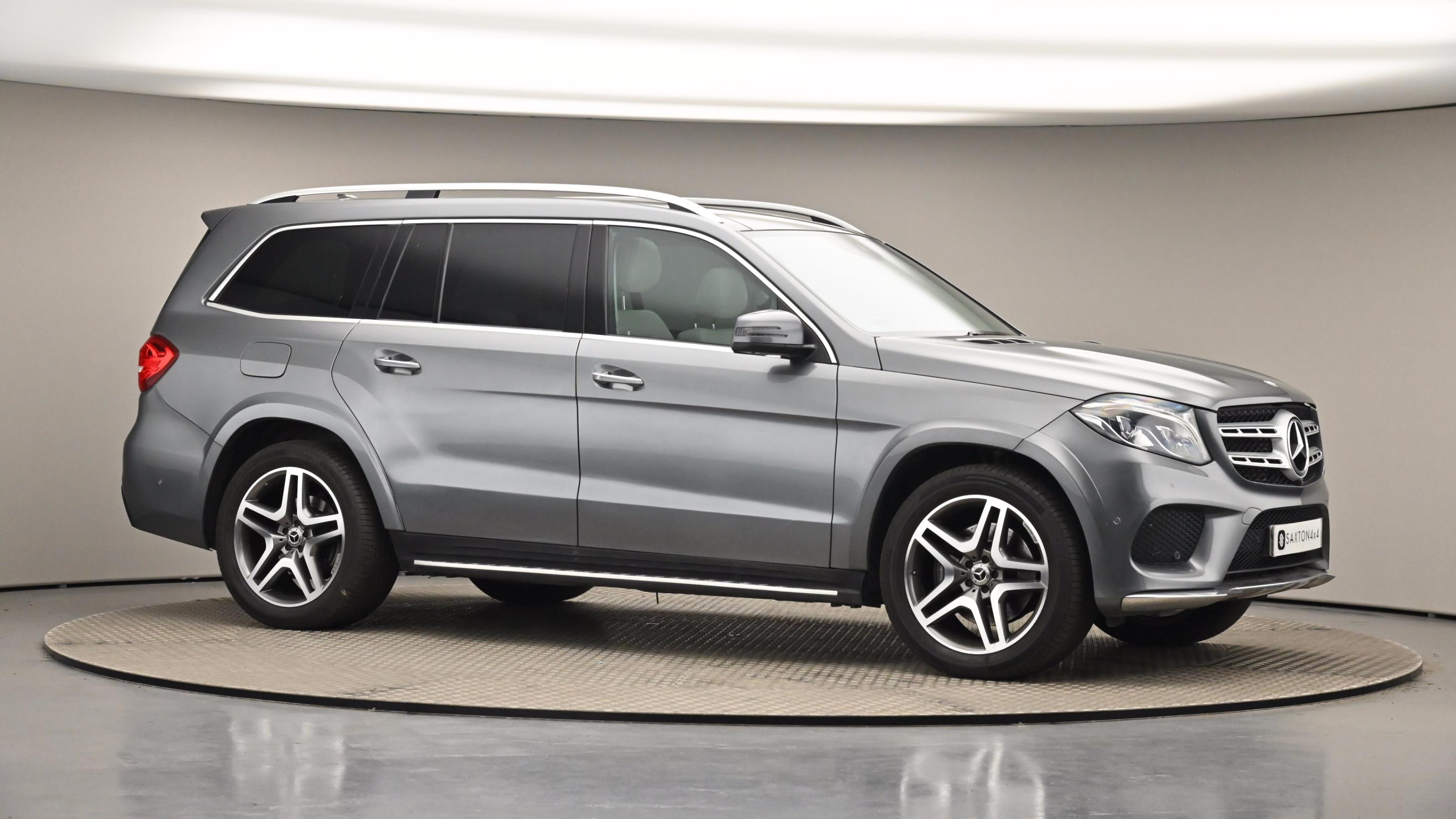 Used 2017 Mercedes-Benz GLS GLS 350d 4Matic AMG Line 5dr 9G-Tronic GREY at Saxton4x4
