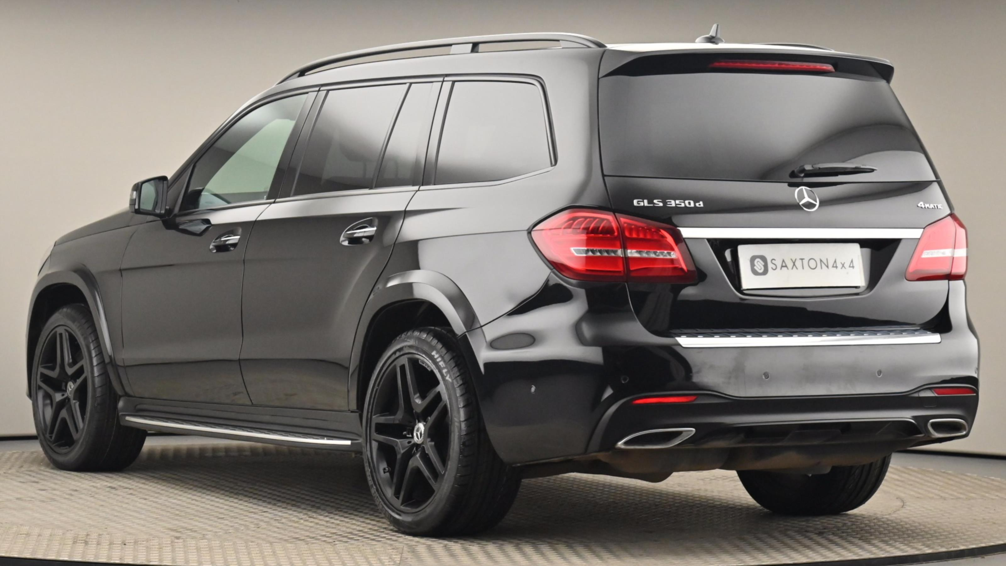 Used 2018 Mercedes-Benz GLS GLS 350d 4Matic AMG Line 5dr 9G-Tronic BLACK at Saxton4x4