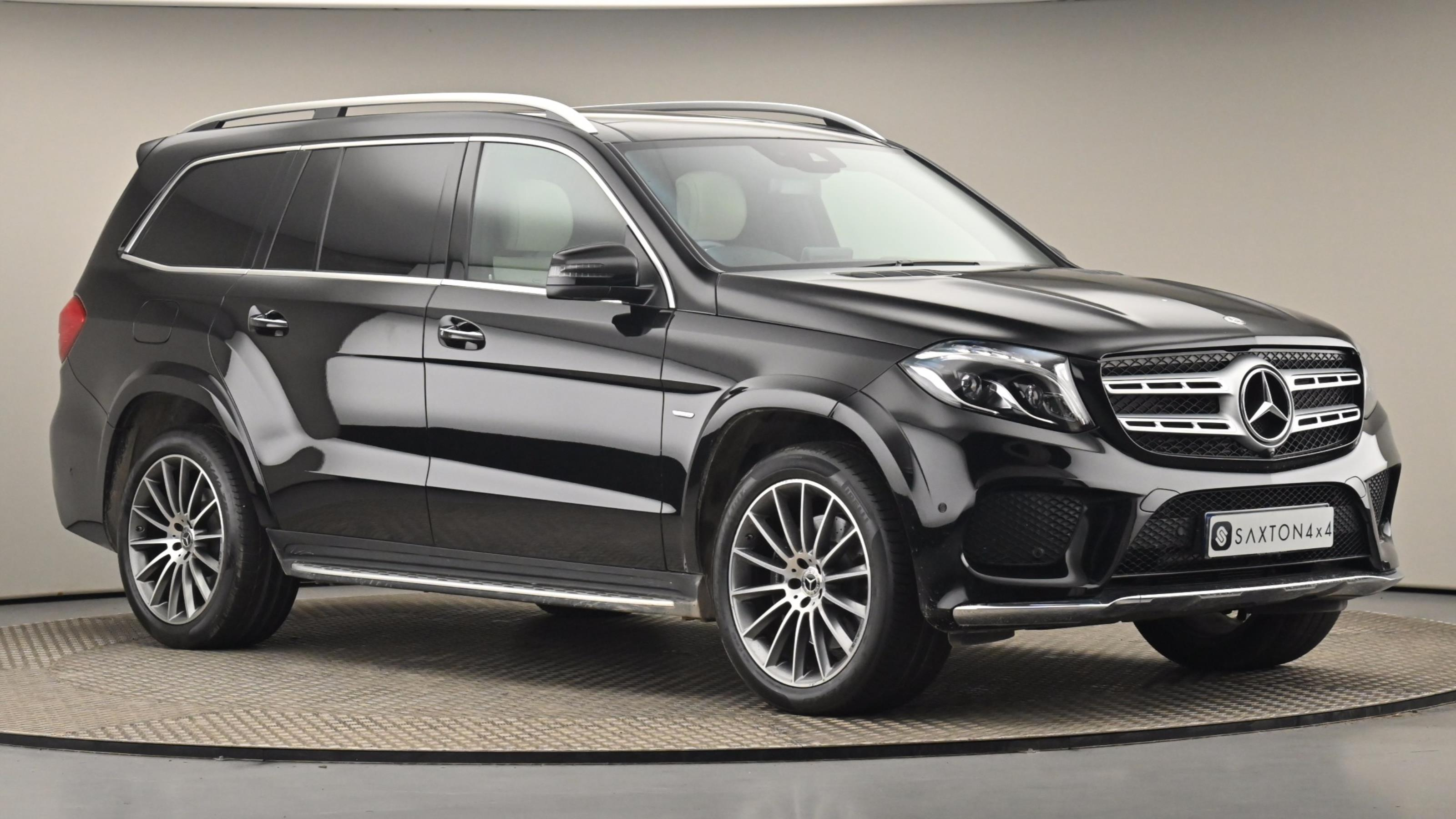 Used 2018 Mercedes-Benz GLS GLS 350d 4Matic Grand Edition 5dr 9G-Tronic BLACK at Saxton4x4