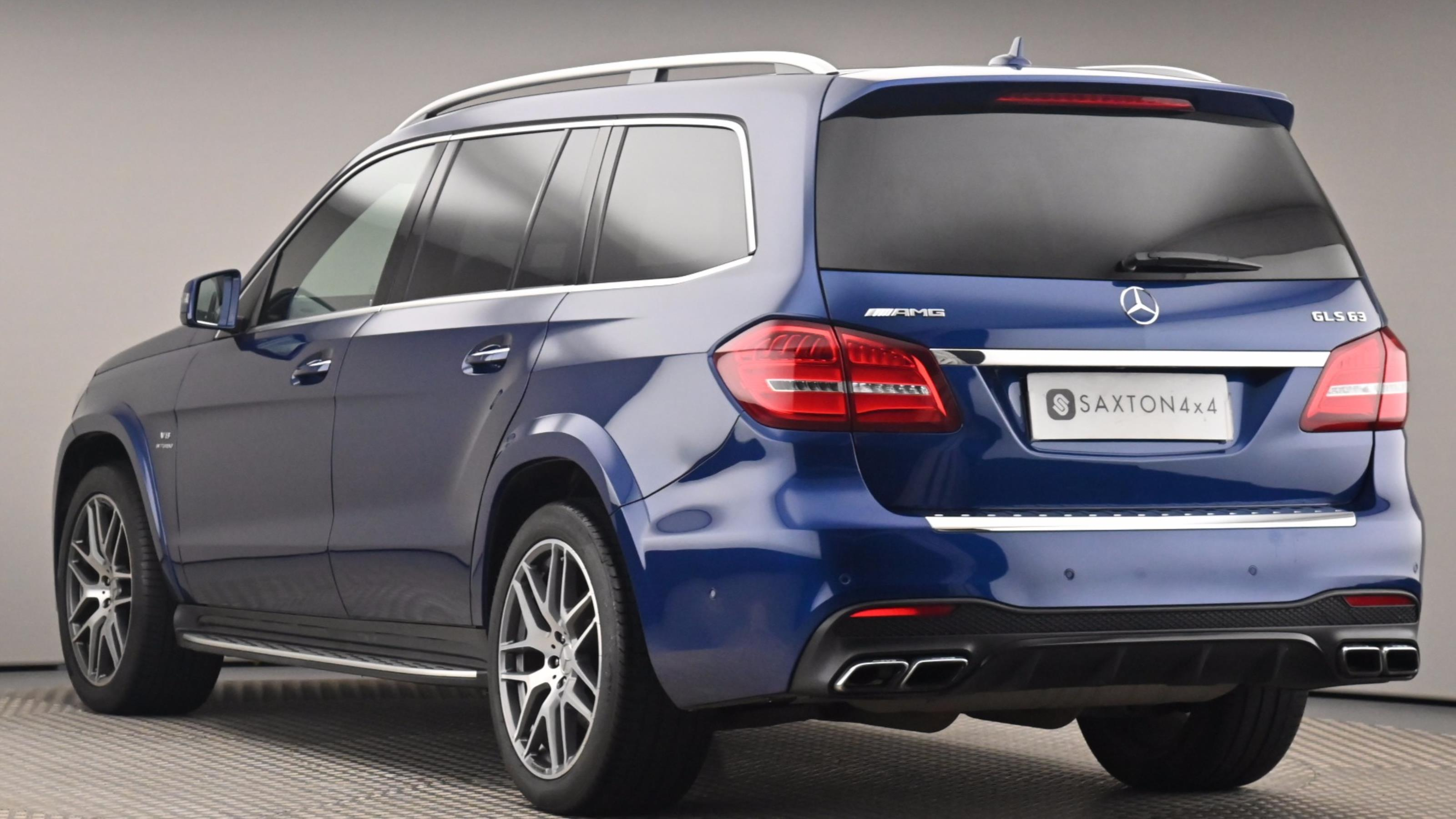 Used 2017 Mercedes-Benz GLS GLS 63 4Matic 5dr 7G-Tronic Blue at Saxton4x4