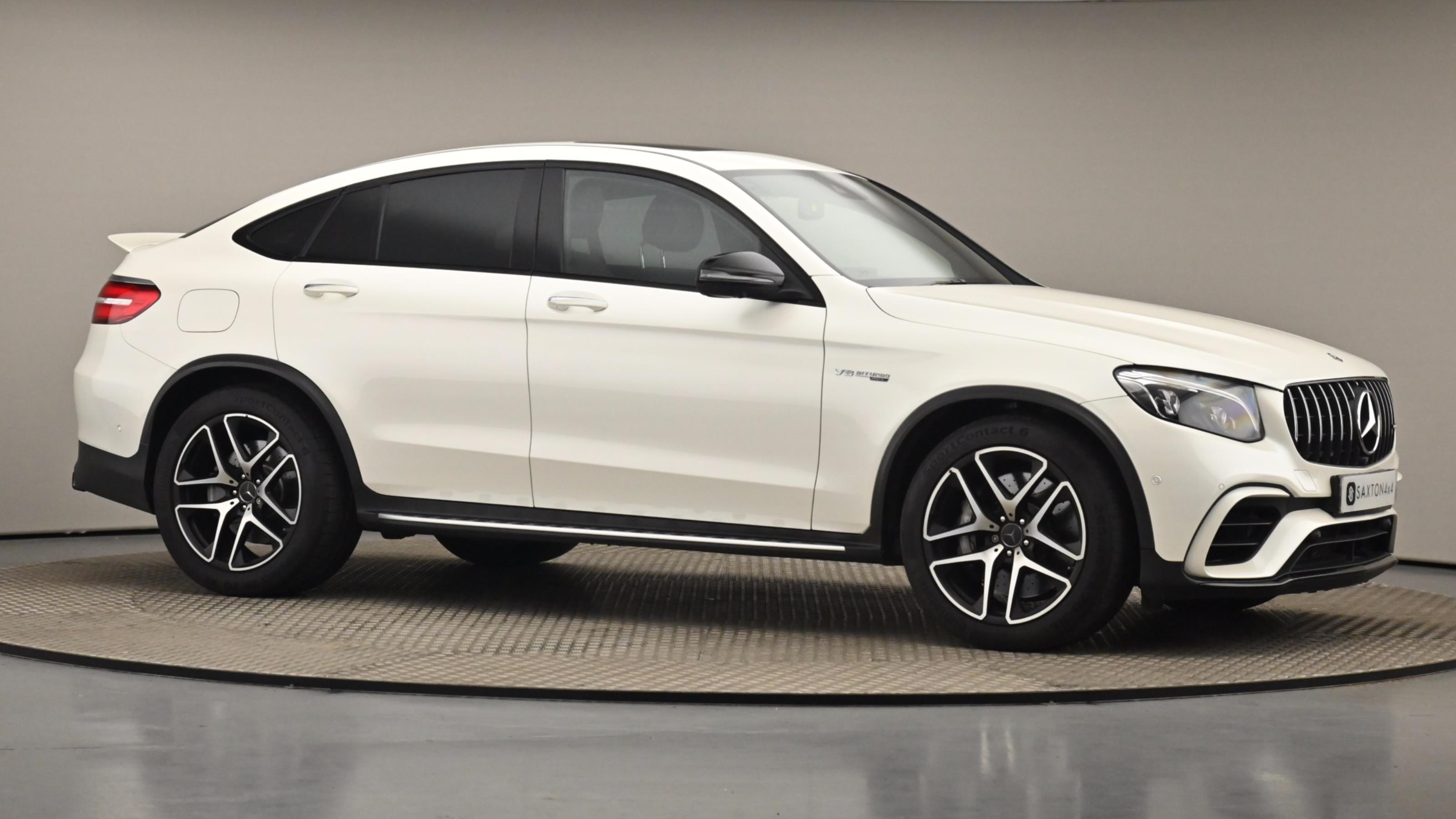 Used 2018 Mercedes-Benz GLC AMG 63 Premium 4matic WHITE at Saxton4x4