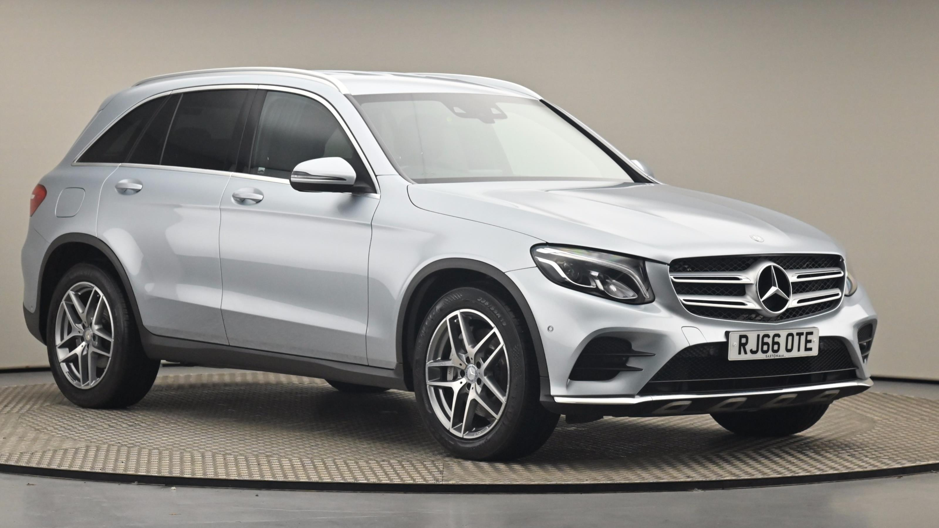 Used 2016 Mercedes-Benz GLC GLC 220d 4Matic AMG Line 5dr 9G-Tronic SILVER at Saxton4x4