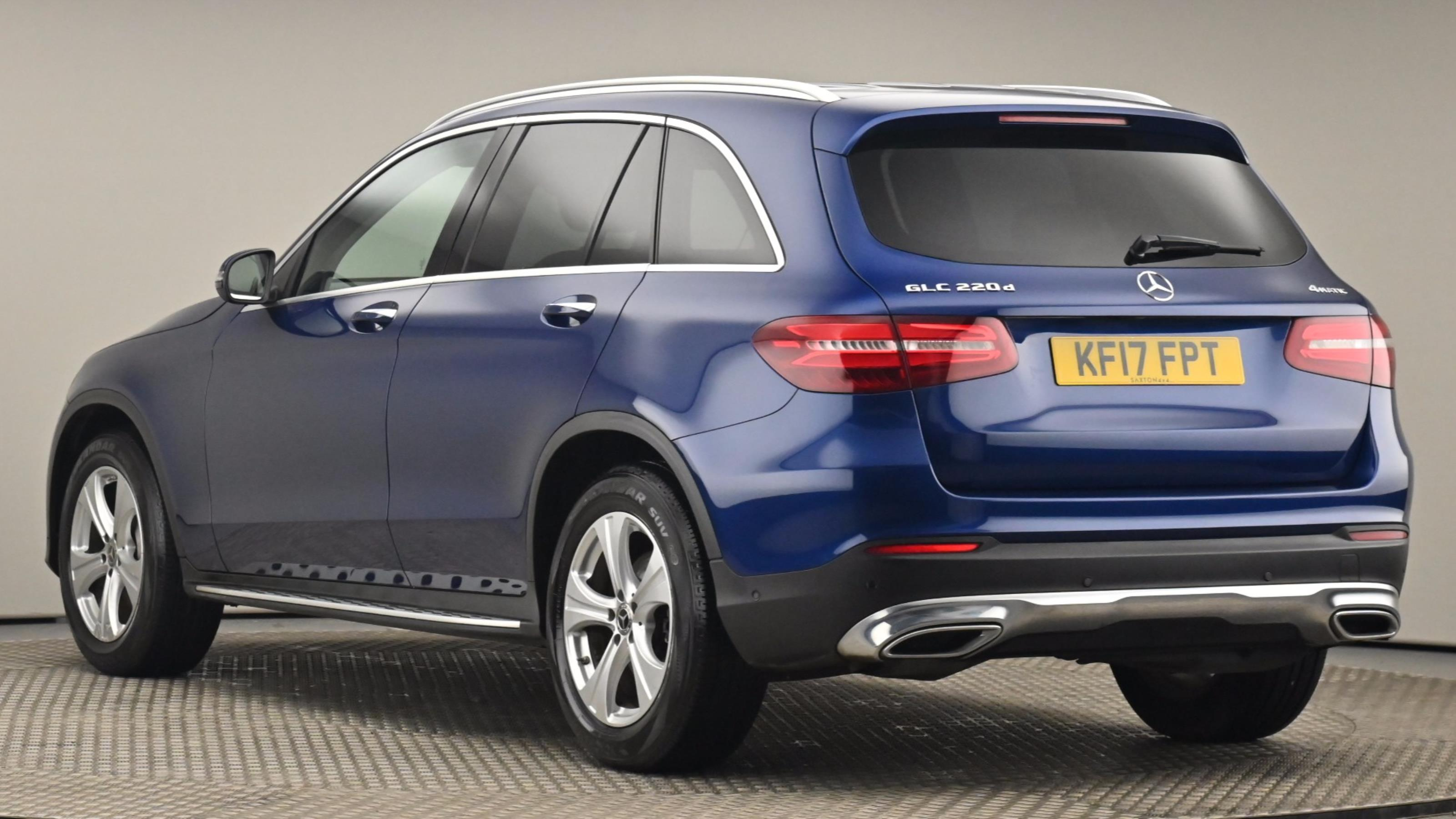 Used 2017 Mercedes-Benz GLC COUPE GLC 220d 4Matic Sport Premium Plus 5dr 9G-Tronic BLUE at Saxton4x4