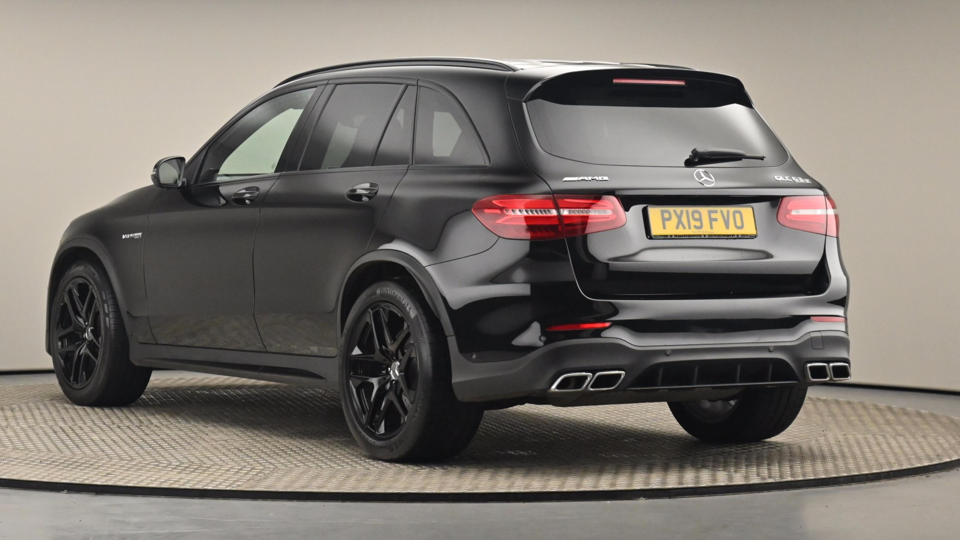 Used 2019 Mercedes-Benz GLC COUPE GLC 63 S 4Matic 5dr 9G-Tronic BLACK at Saxton4x4