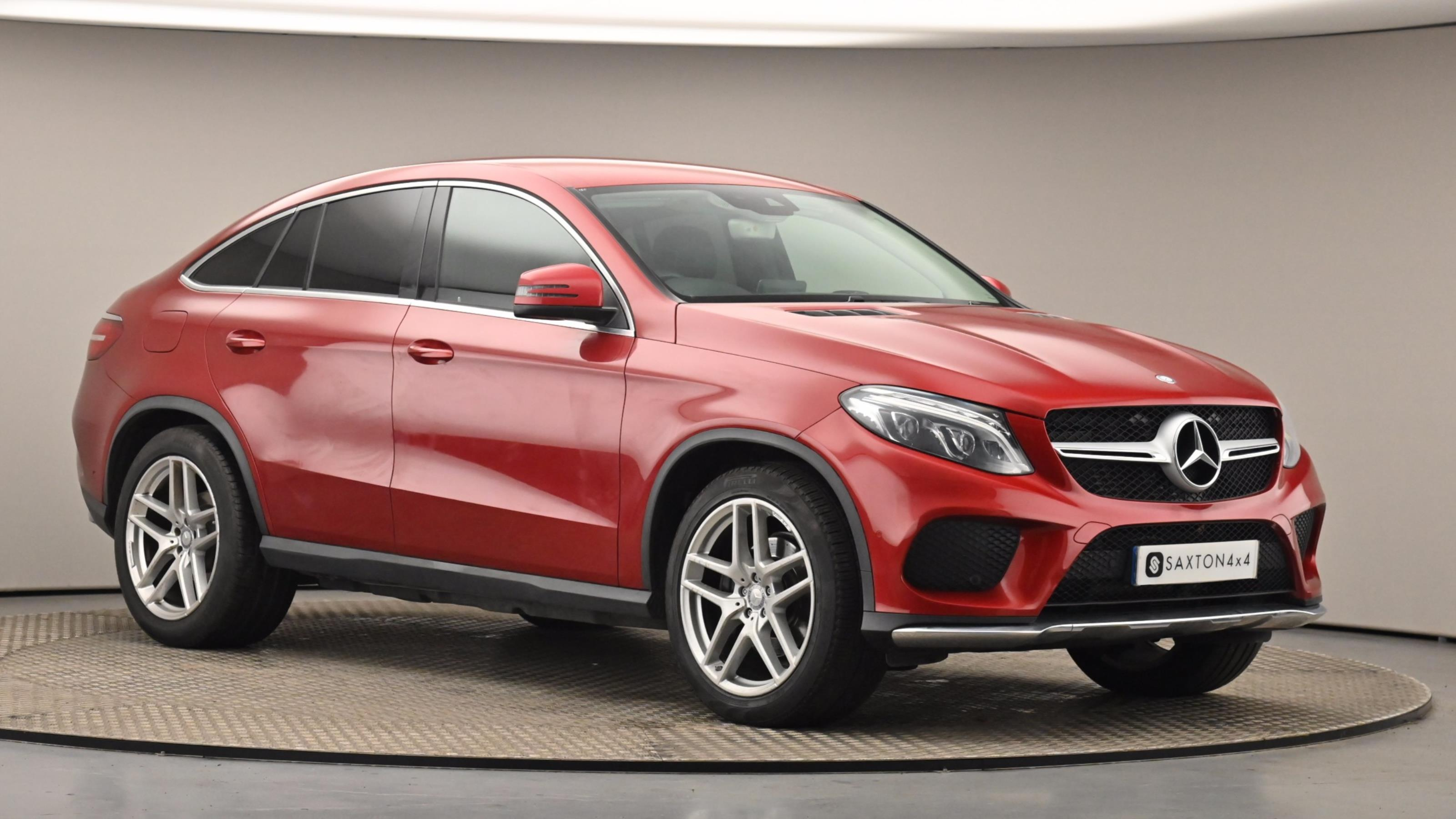 Used 2016 Mercedes-Benz GLE COUPE GLE 350d 4Matic AMG Line 5dr 9G-Tronic RED at Saxton4x4