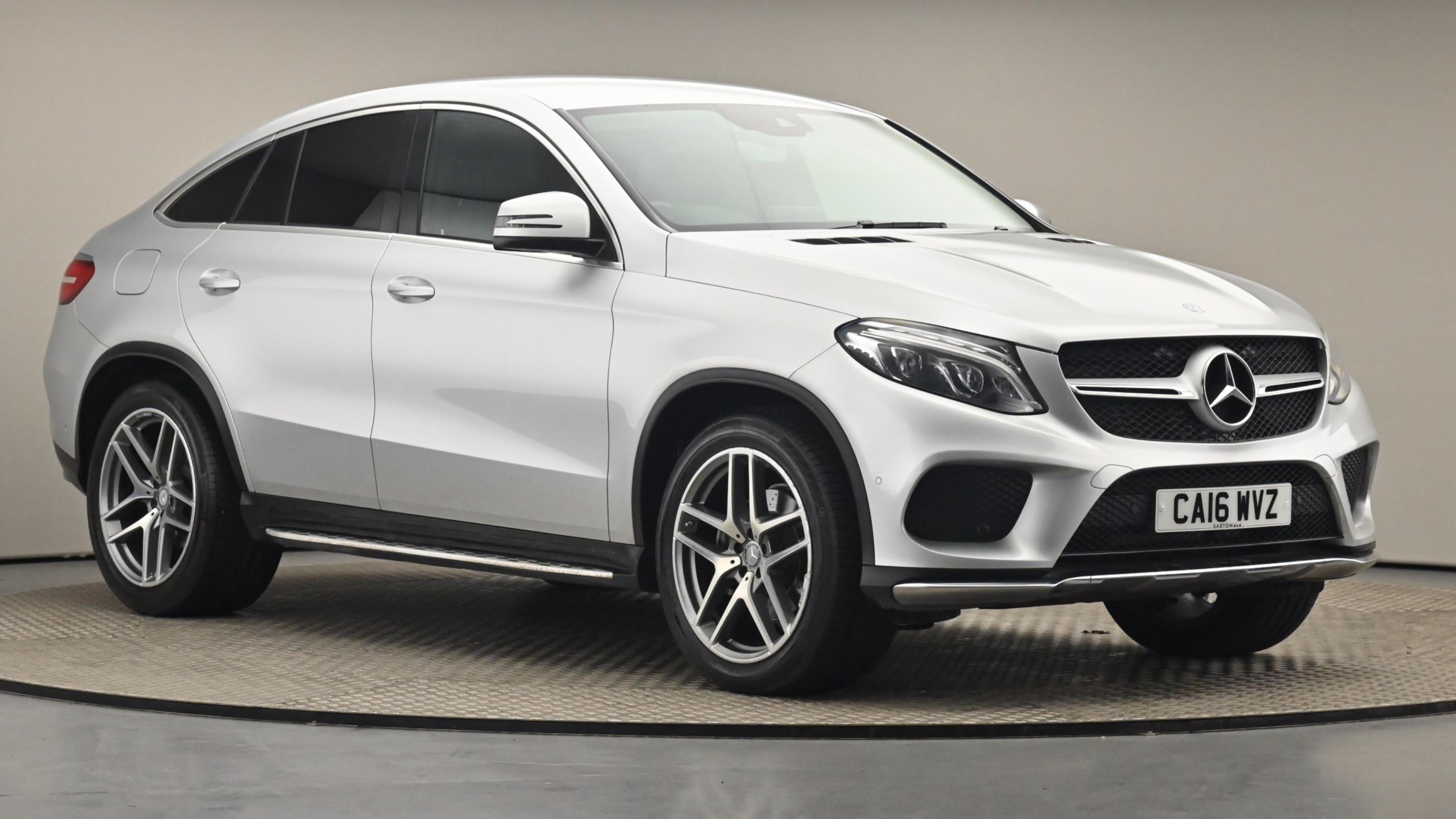 Used 2016 Mercedes-Benz GLE COUPE GLE 350d 4Matic AMG Line 5dr 9G-Tronic SILVER at Saxton4x4