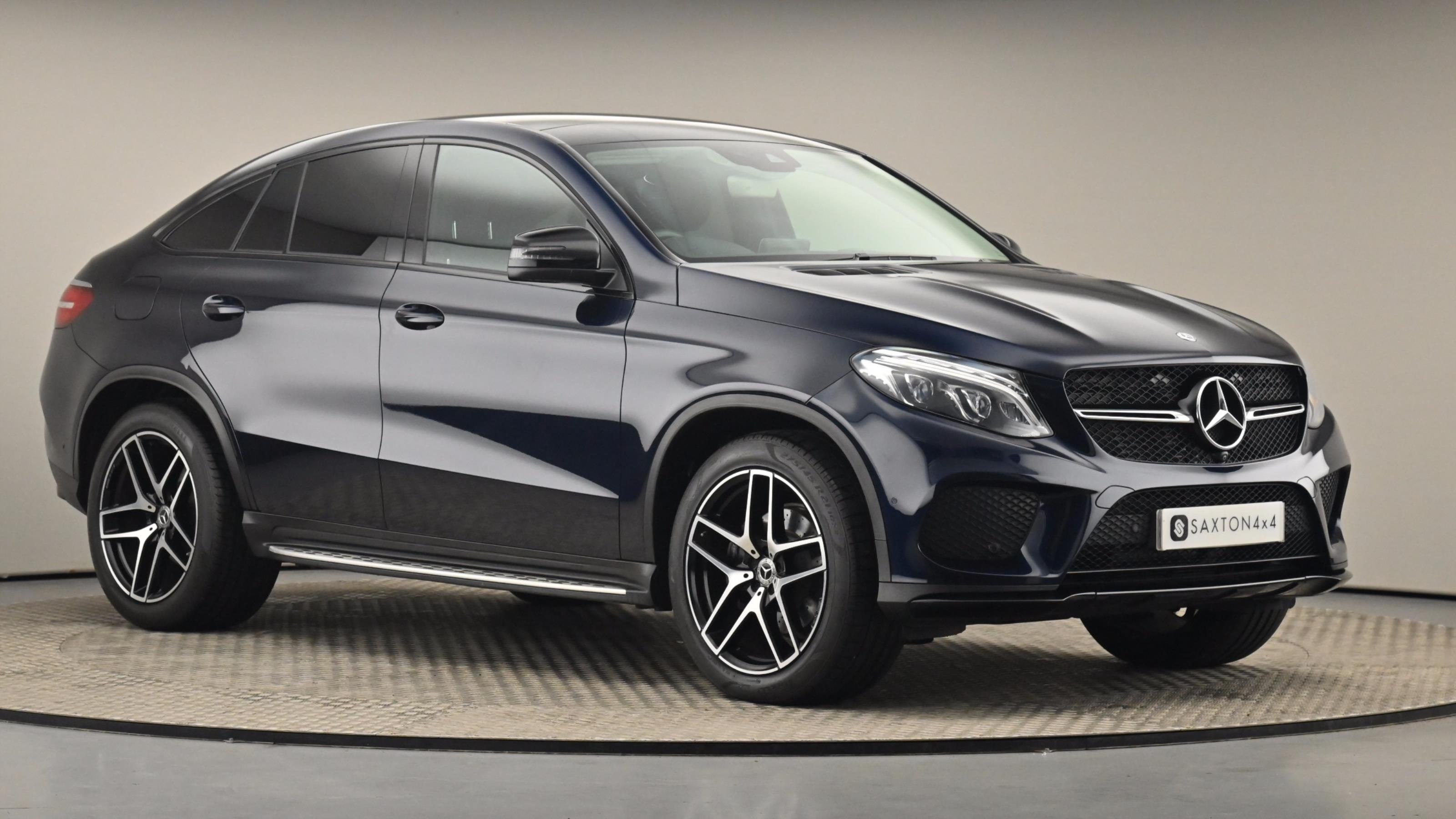 Used 2017 Mercedes-Benz GLE COUPE GLE 350d 4Matic AMG Line Premium 5dr 9G-Tronic BLUE at Saxton4x4