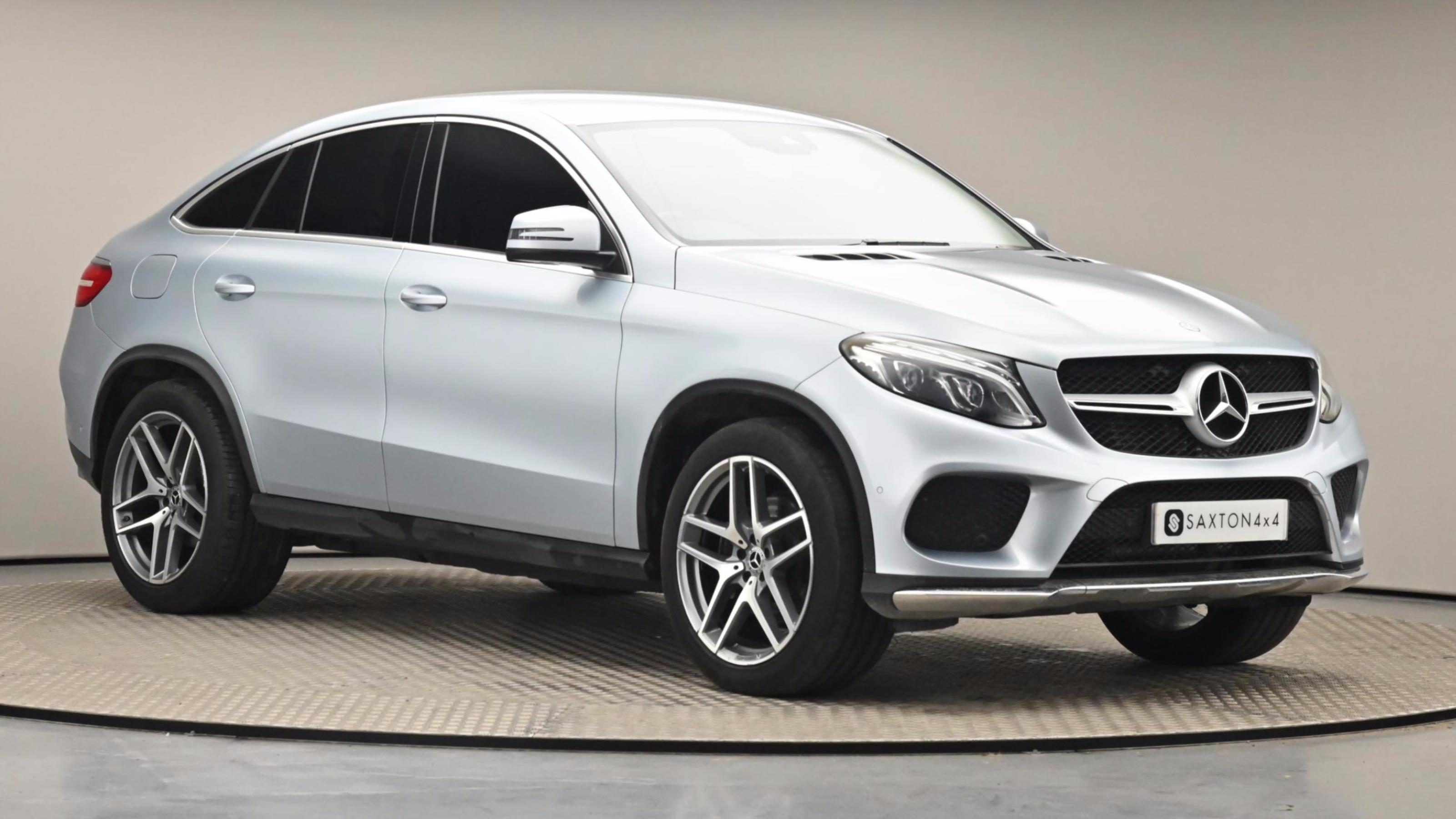 Used 2018 Mercedes-Benz GLE COUPE GLE 350d 4Matic AMG Line 5dr 9G-Tronic SILVER at Saxton4x4