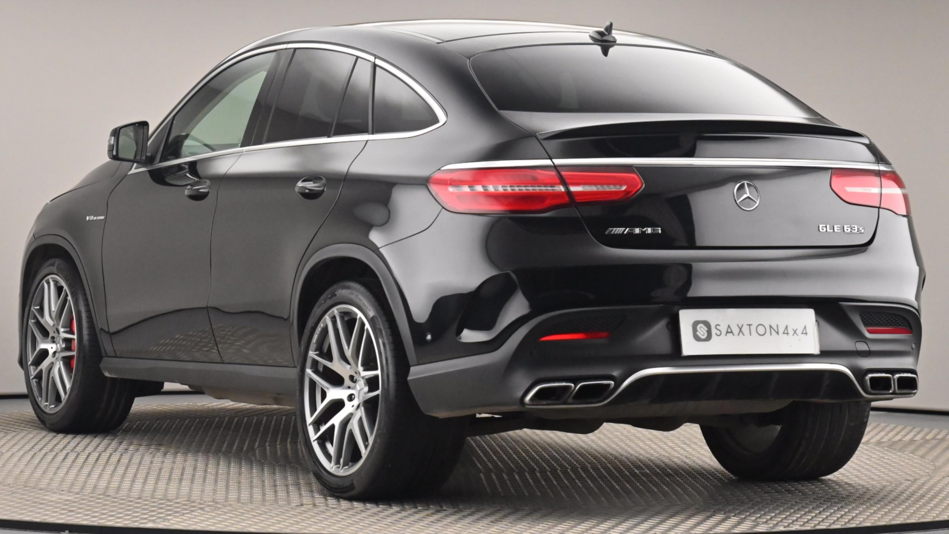 Used 2017 Mercedes-Benz GLE COUPE GLE 63 S 4Matic 5dr 7G-Tronic BLACK at Saxton4x4