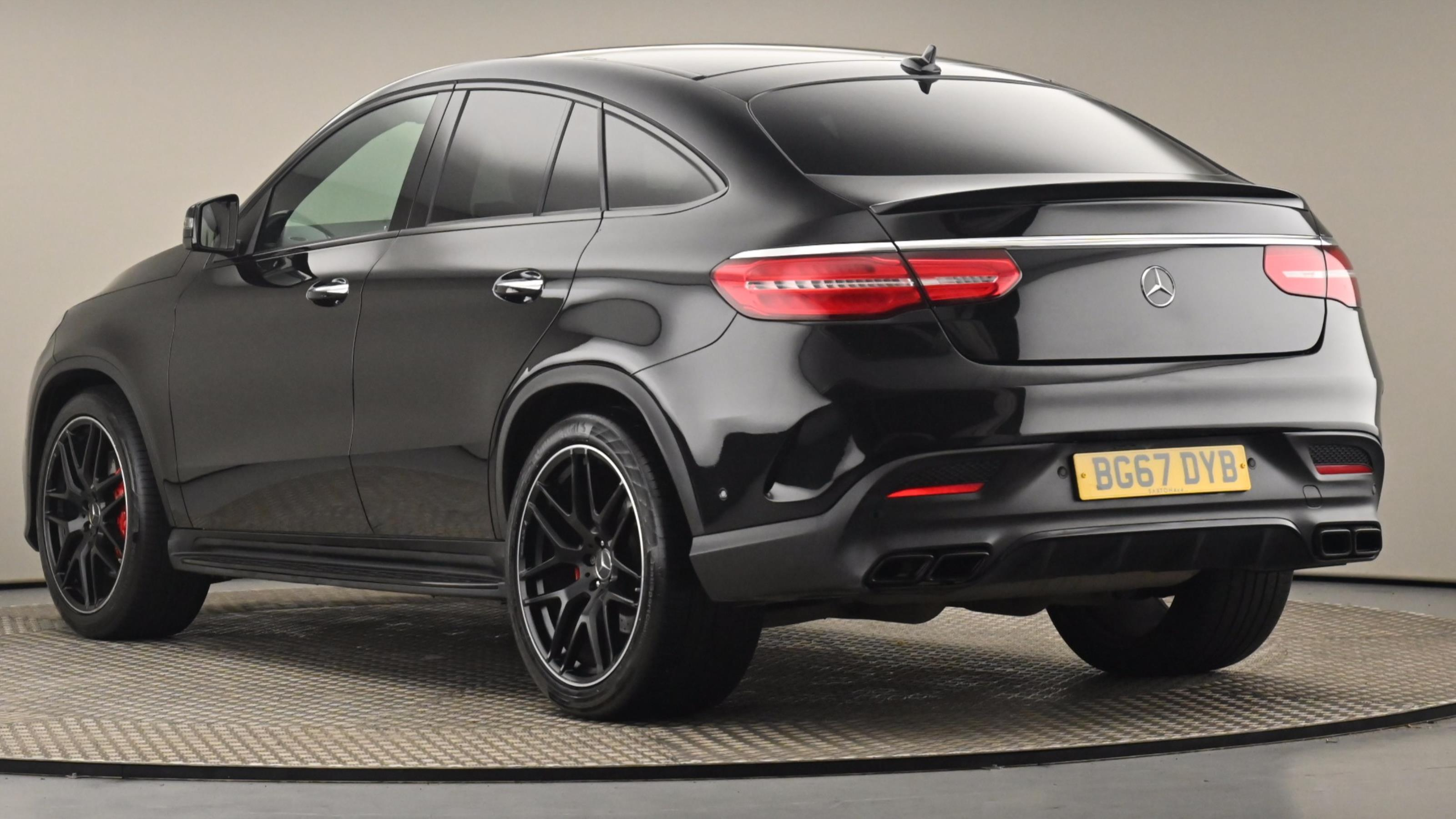Used 2017 Mercedes-Benz GLE COUPE GLE 63 S 4Matic Premium 5dr 7G-Tronic BLACK at Saxton4x4