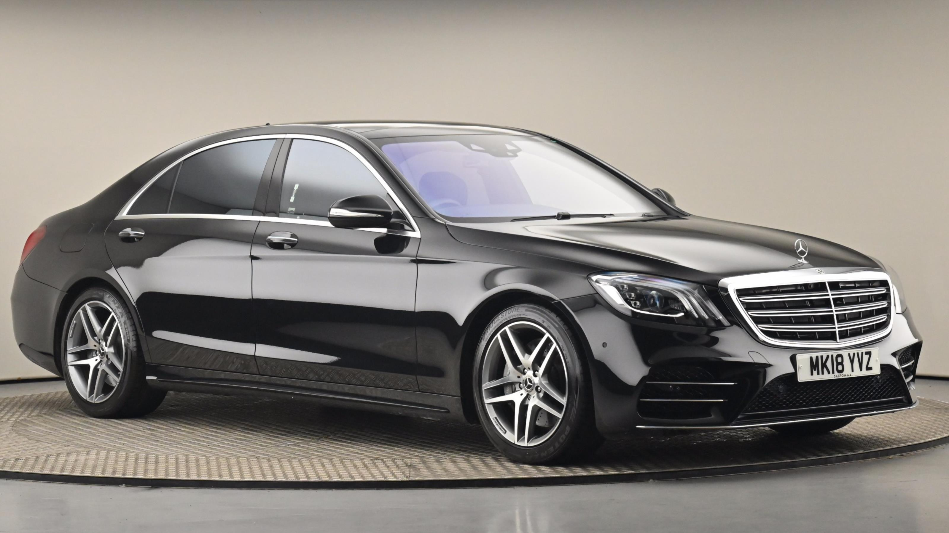 Used 2018 Mercedes-Benz S CLASS S500L AMG Line Executive 4dr 9G-Tronic BLACK at Saxton4x4