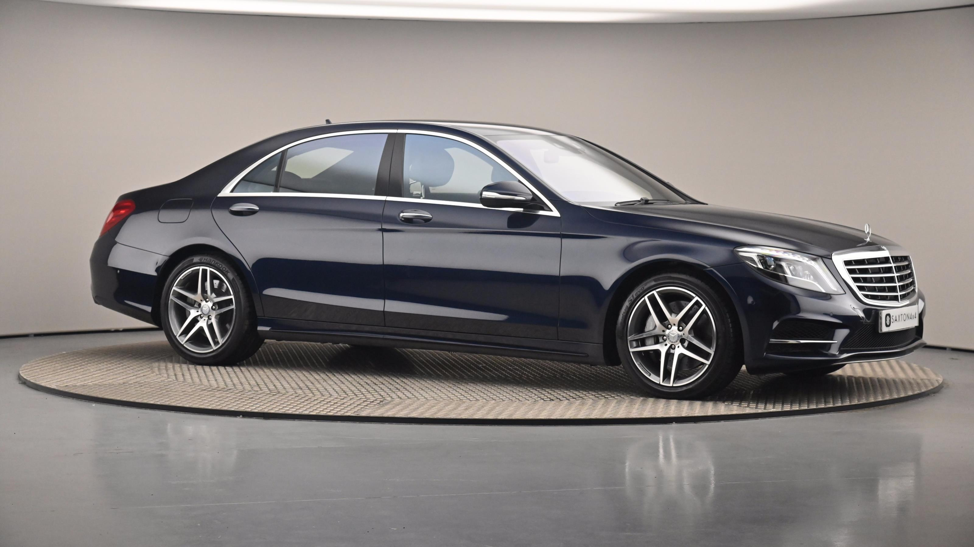 Used 2016 Mercedes-Benz S CLASS S500L AMG Line 4dr 9G-Tronic Blue at Saxton4x4
