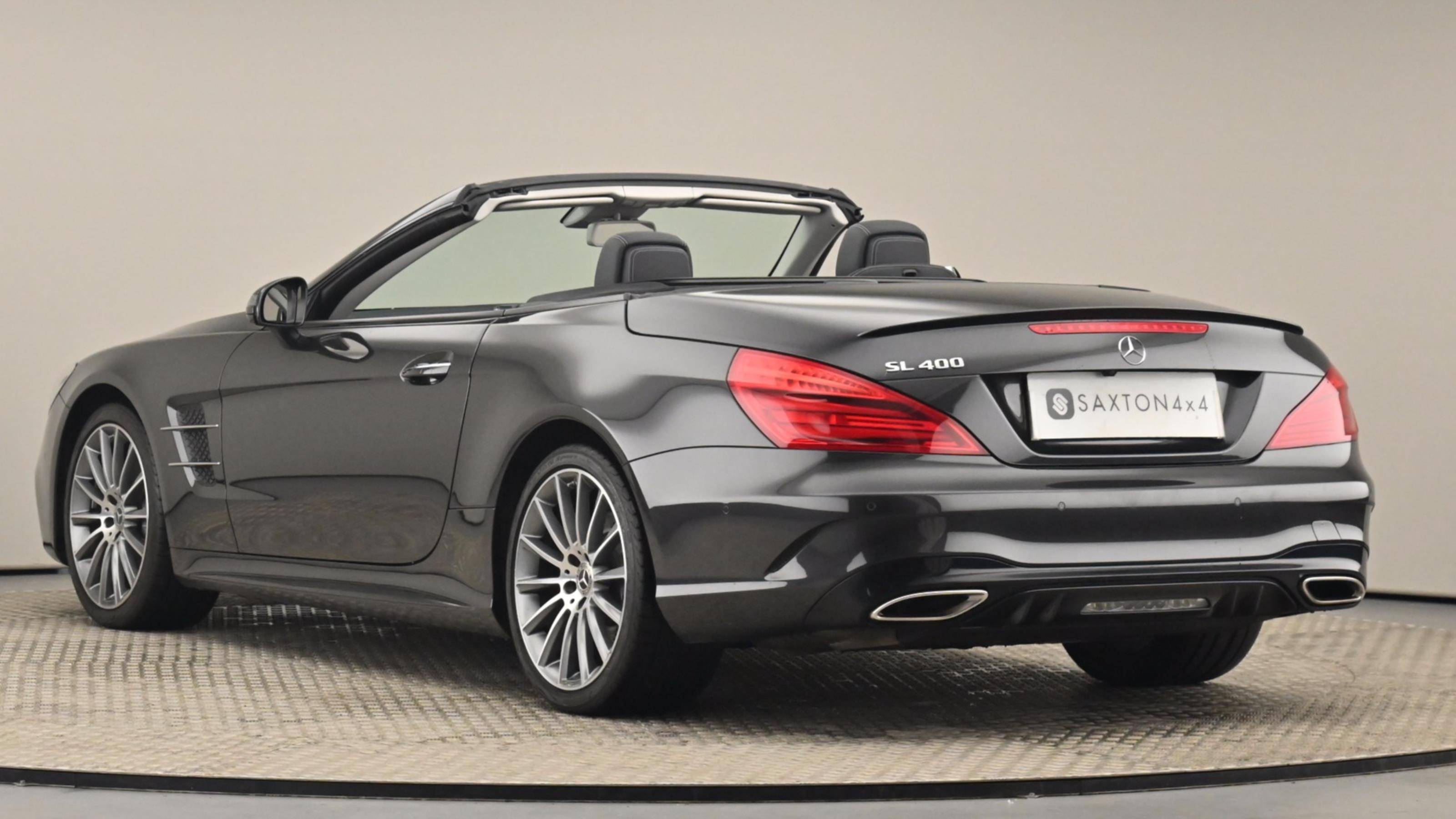 Used 2019 Mercedes-Benz SL CLASS SL 400 AMG Line Premium 2dr 9G-Tronic GREY at Saxton4x4