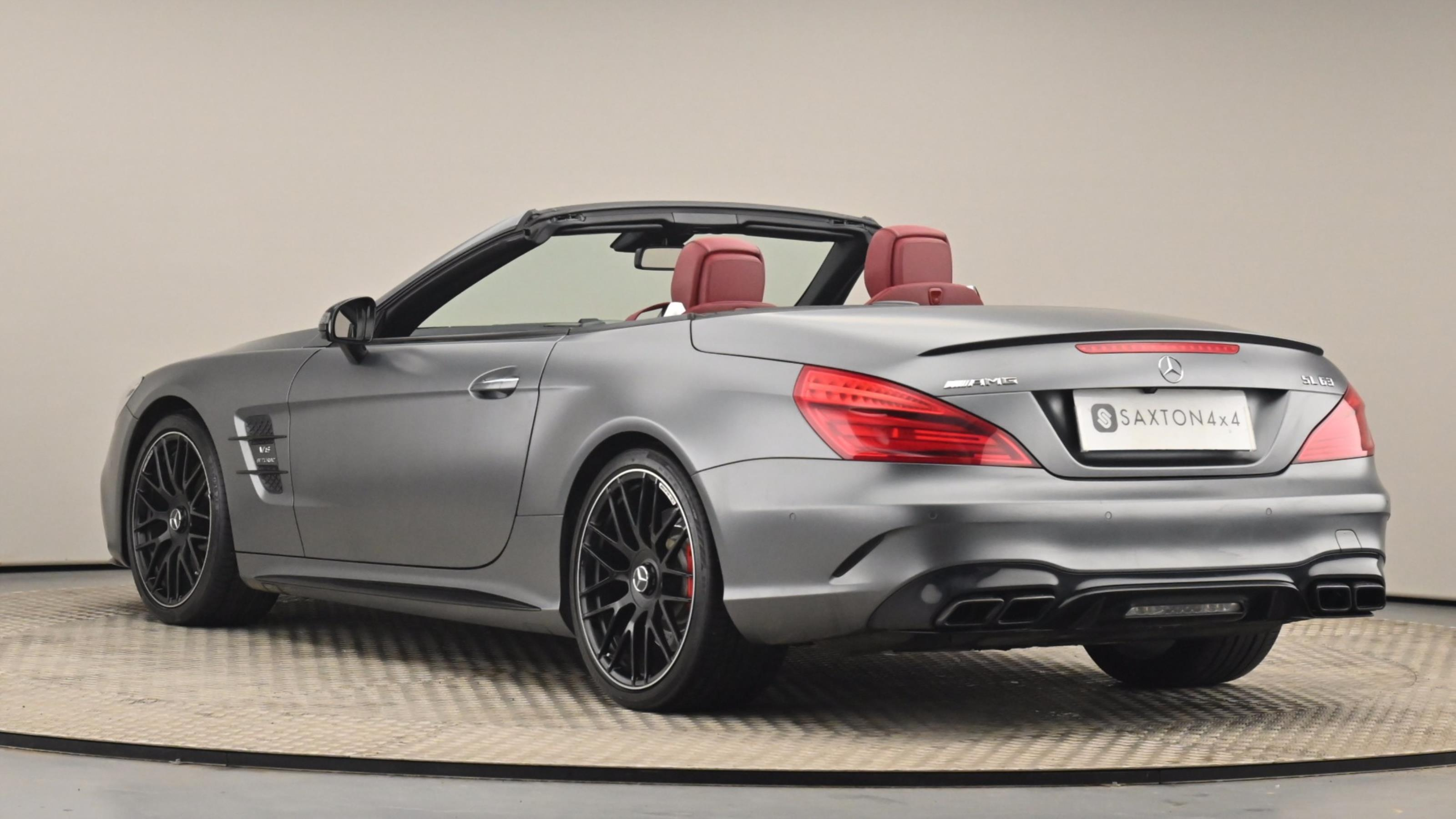 Used 2016 Mercedes-Benz SL CLASS SL 63 2dr MCT GREY at Saxton4x4
