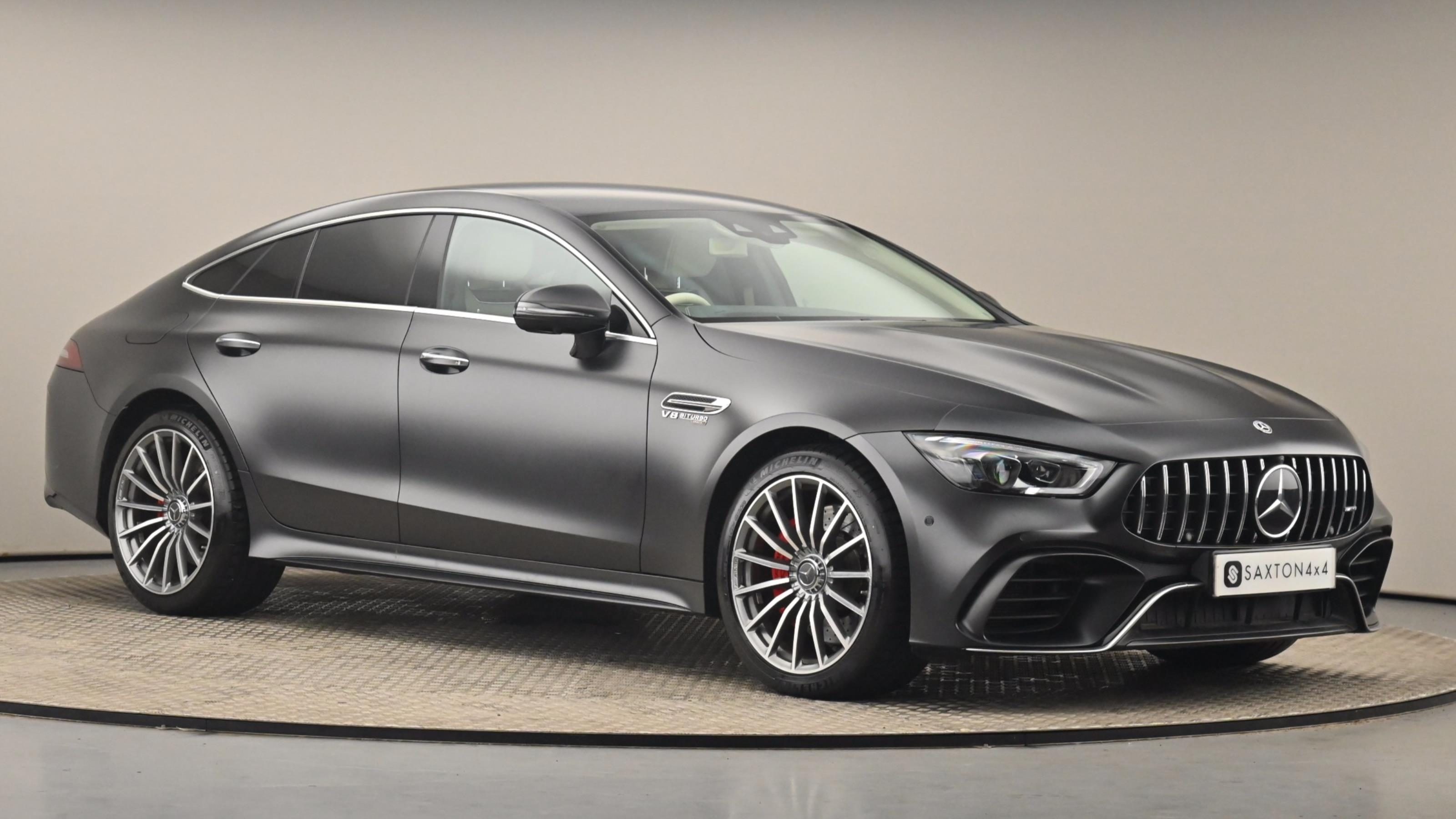 Used 2018 Mercedes-Benz Amg Gt 63 Premium + 4mati GREY at Saxton4x4