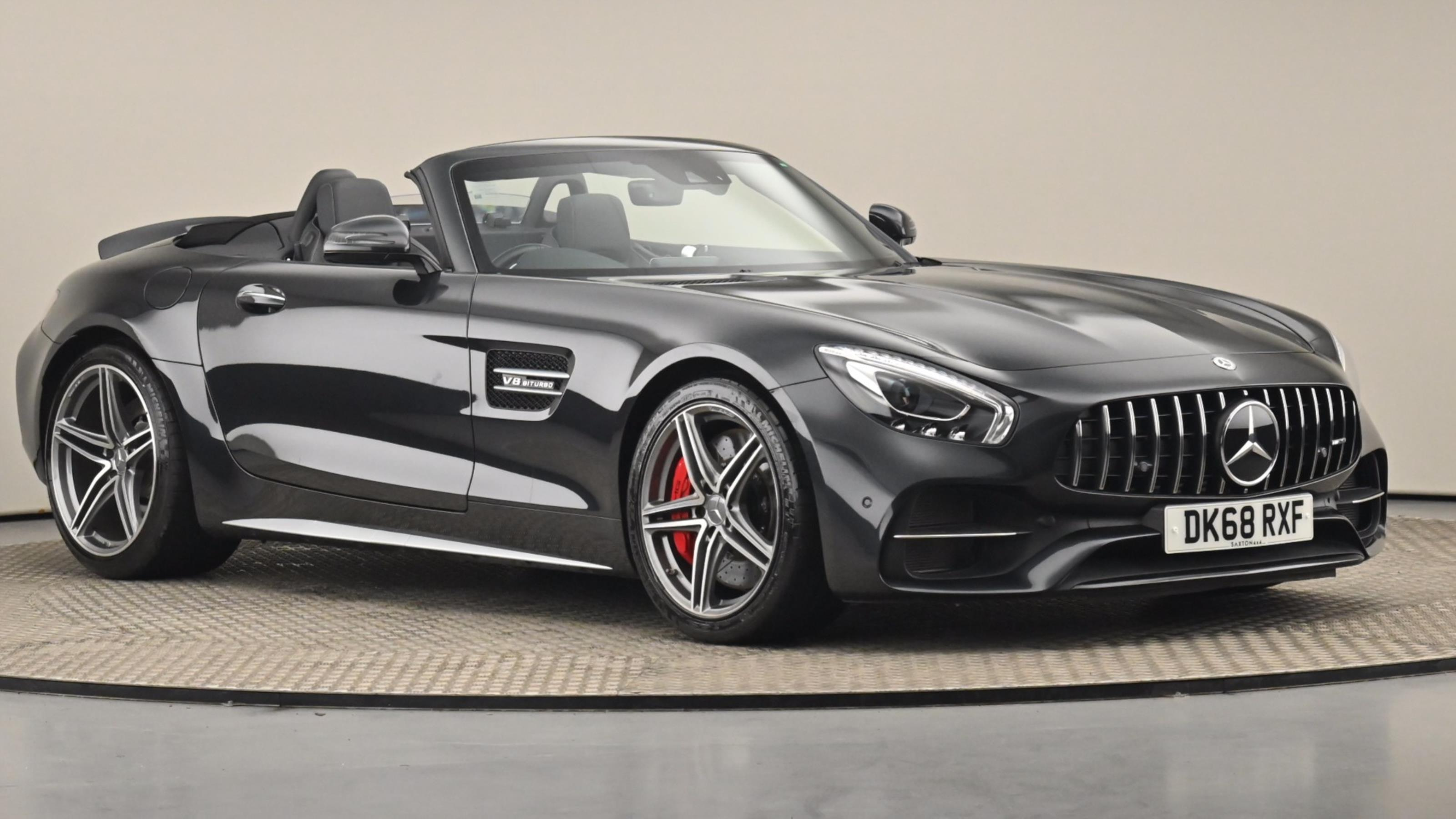 Used 2018 Mercedes-Benz AMG GT GT C 2dr Auto BLACK at Saxton4x4