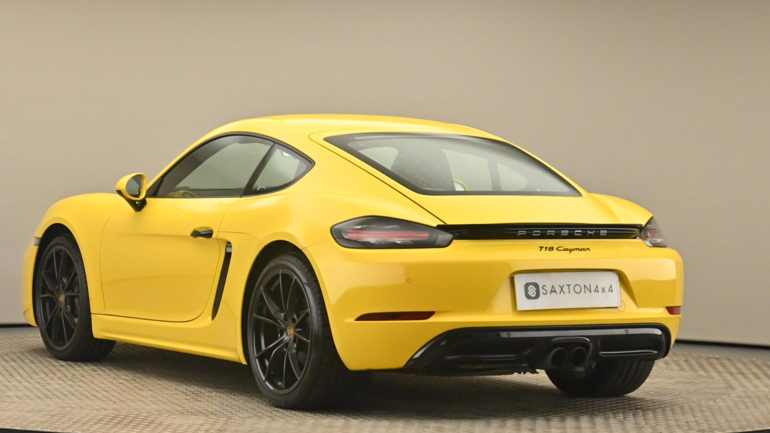 Used 2018 Porsche CAYMAN 2.0 2dr YELLOW at Saxton4x4
